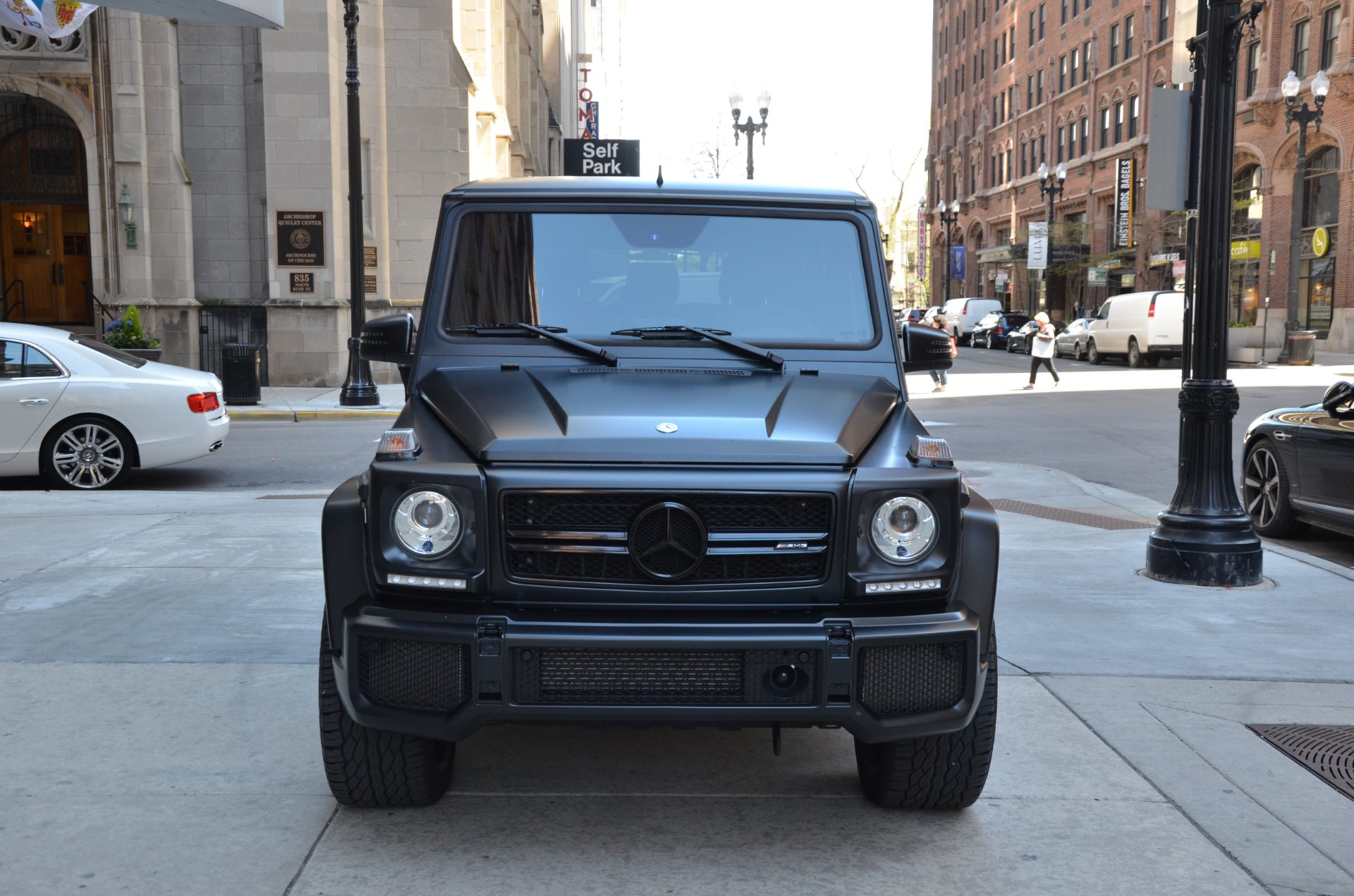 2016 mercedes benz g class amg g63 stock 44290 for sale for Mercedes benz chicago dealers