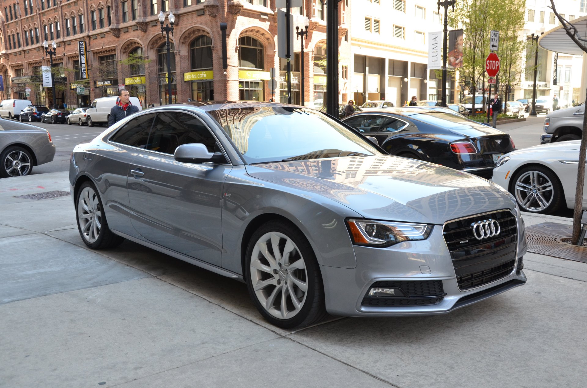 2015 audi a5 2 0t quattro premium plus stock l141aa for sale near chicago il il audi dealer. Black Bedroom Furniture Sets. Home Design Ideas