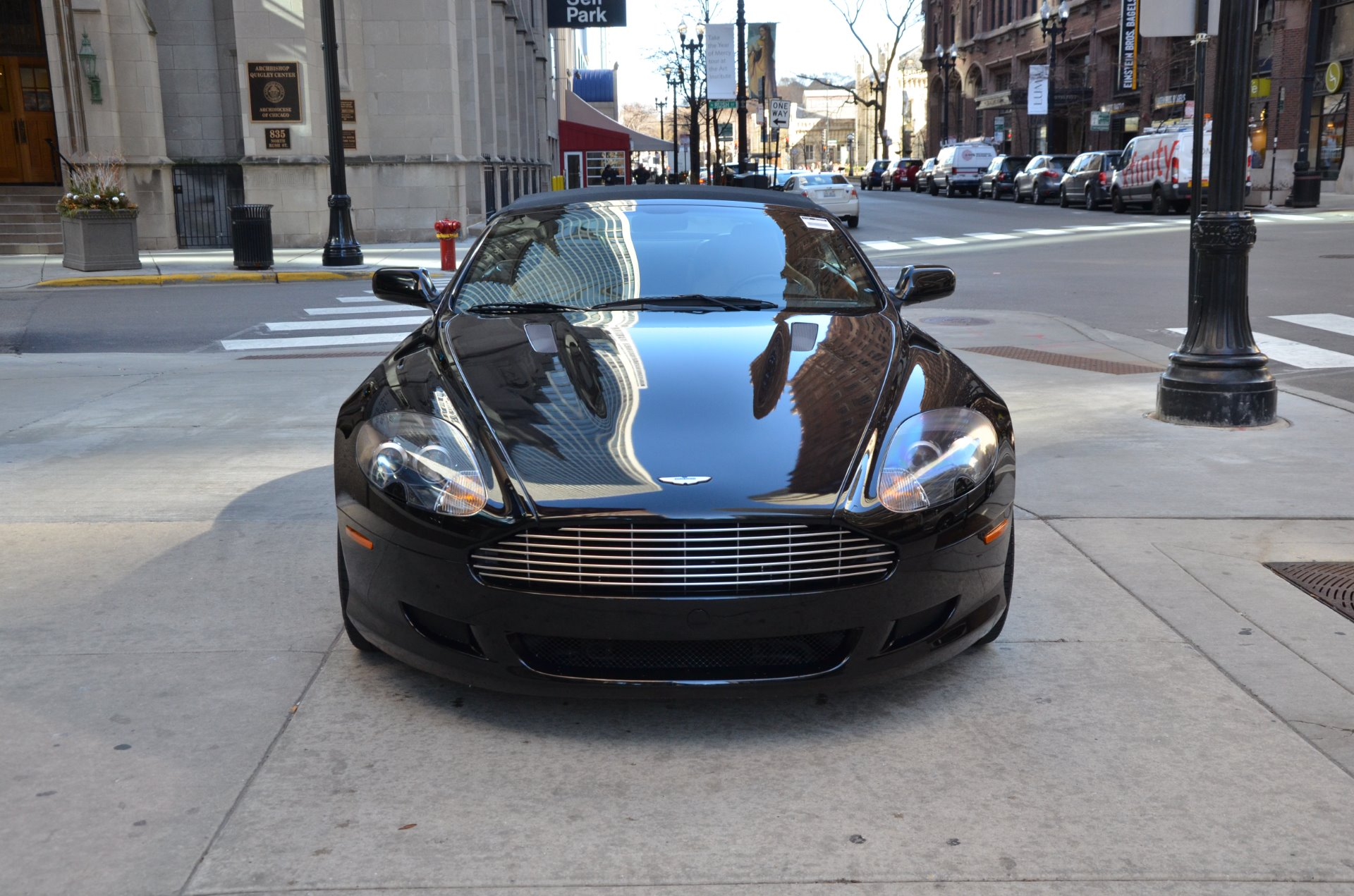 2006 aston martin db9 volante stock gc2056 for sale near chicago il il aston martin dealer. Black Bedroom Furniture Sets. Home Design Ideas