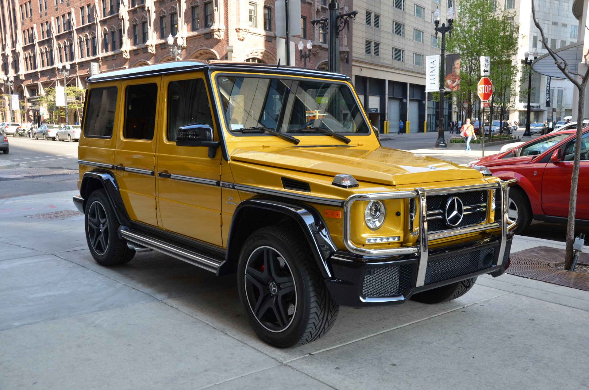 2016 mercedes benz g class amg g63 stock r294b for sale for Mercedes benz g class amg