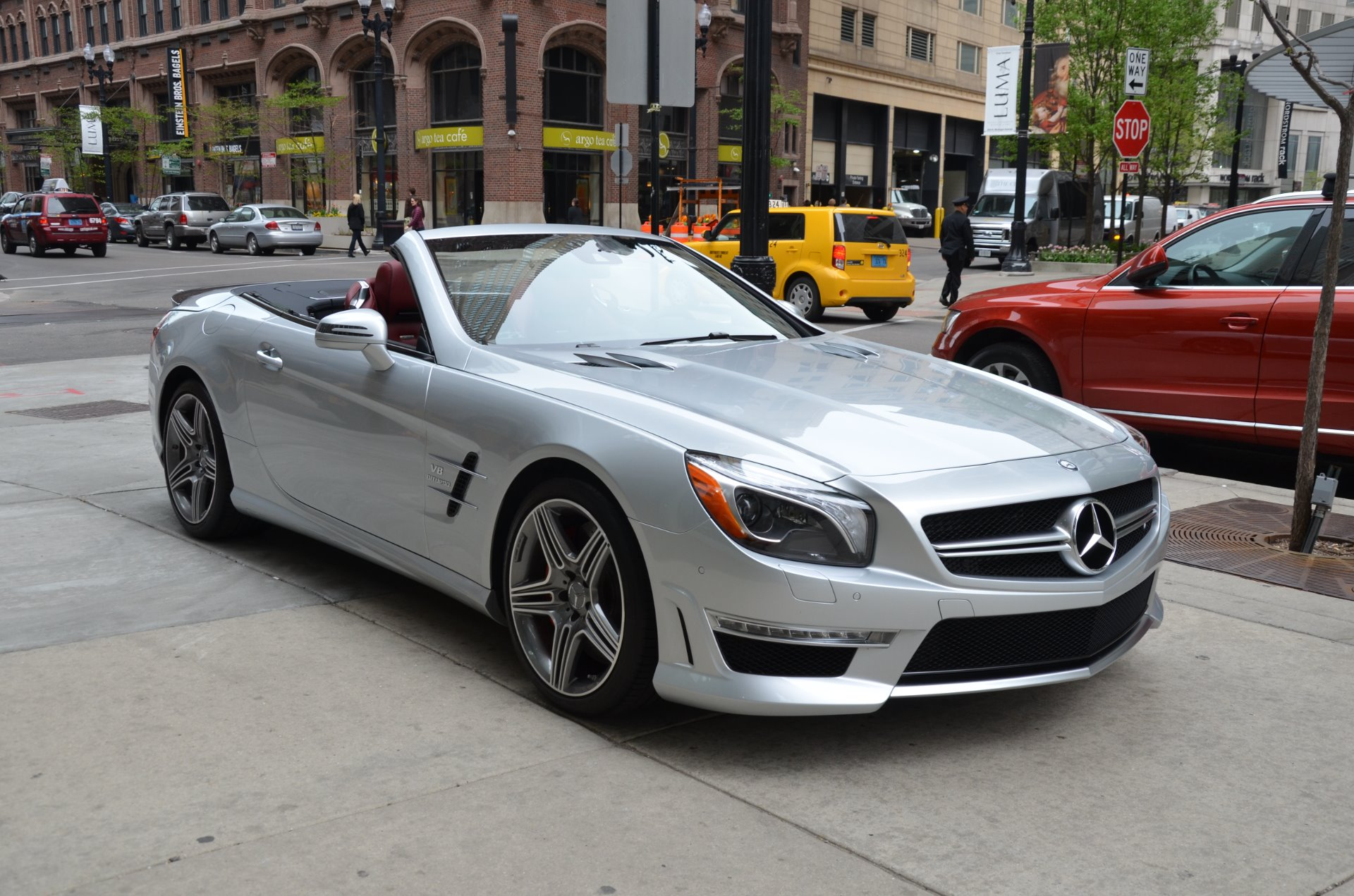 2013 mercedes benz sl class sl63 amg stock 15639 for