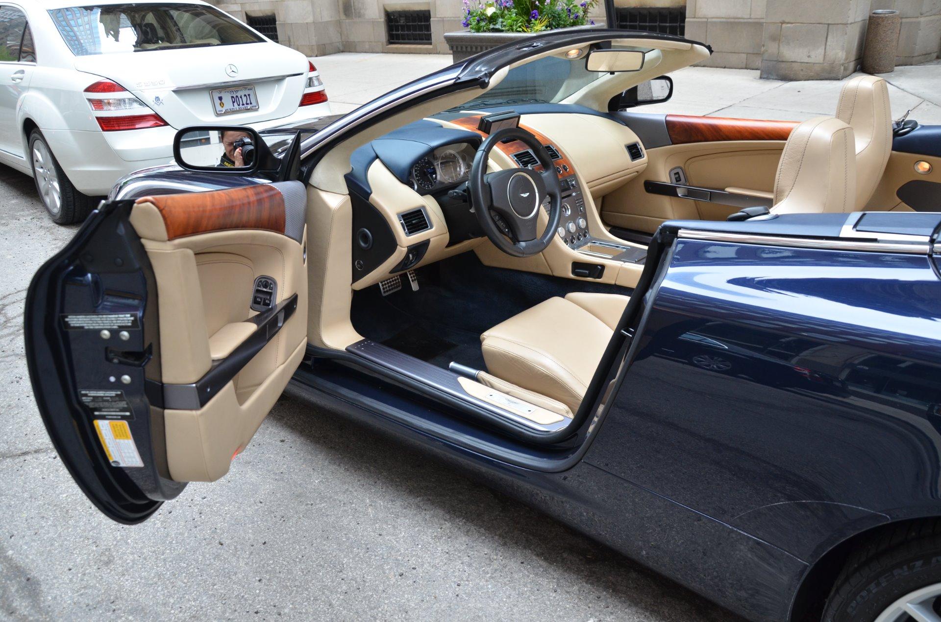 2006 aston martin db9 volante stock gc1951 for sale near chicago il il aston martin dealer. Black Bedroom Furniture Sets. Home Design Ideas