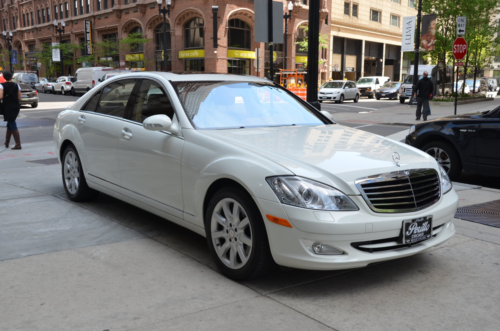 2008 mercedes benz s class s550 stock gc1952a for sale near chicago il il mercedes benz dealer. Black Bedroom Furniture Sets. Home Design Ideas