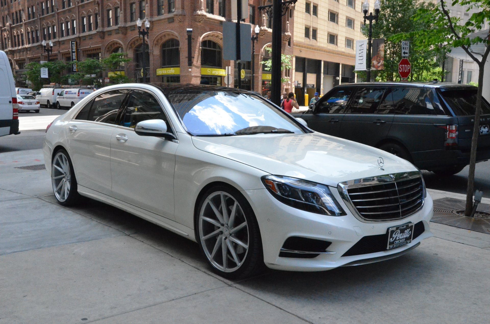 2014 mercedes benz s class s550 4matic stock b785a for for Mercedes benz chicago dealers