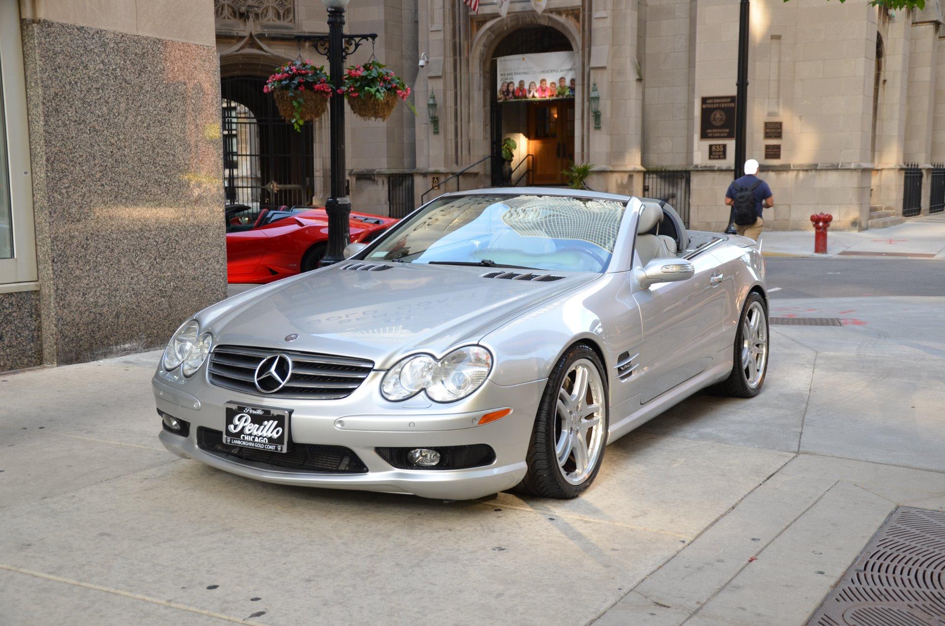 Used 2005 mercedes benz sl class sl600 chicago il