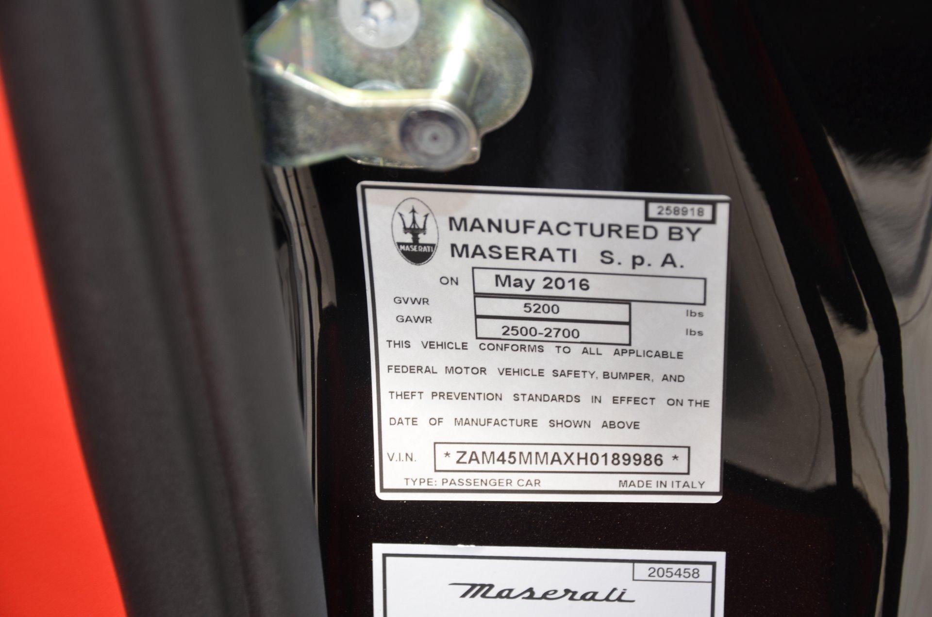 2017 maserati granturismo convertible stock m515 for sale near chicago il il maserati dealer. Black Bedroom Furniture Sets. Home Design Ideas