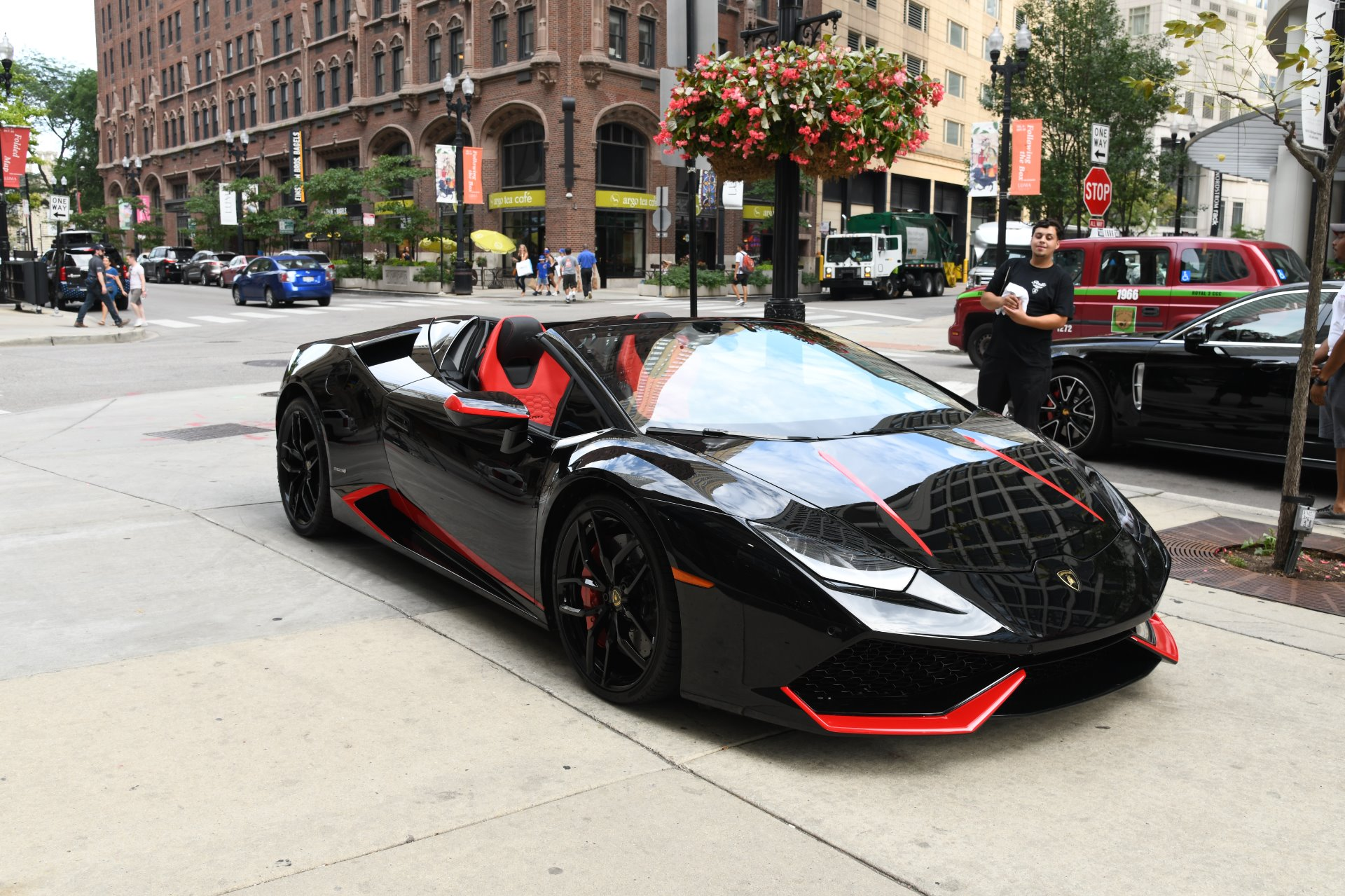 2017 lamborghini huracan spyder lp 610 4 spyder stock gc roland194 for sale near chicago il. Black Bedroom Furniture Sets. Home Design Ideas