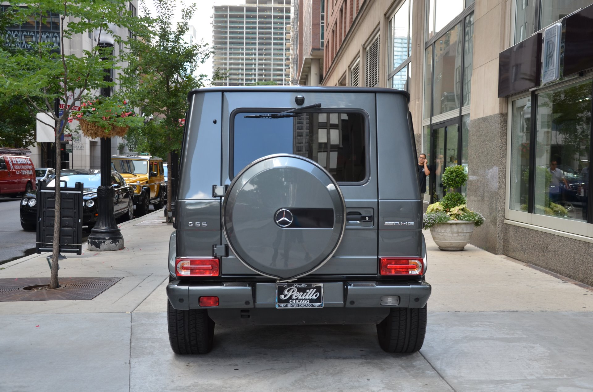 2011 mercedes benz g class g55 amg stock gc1616ab for for Mercedes benz dealers in illinois