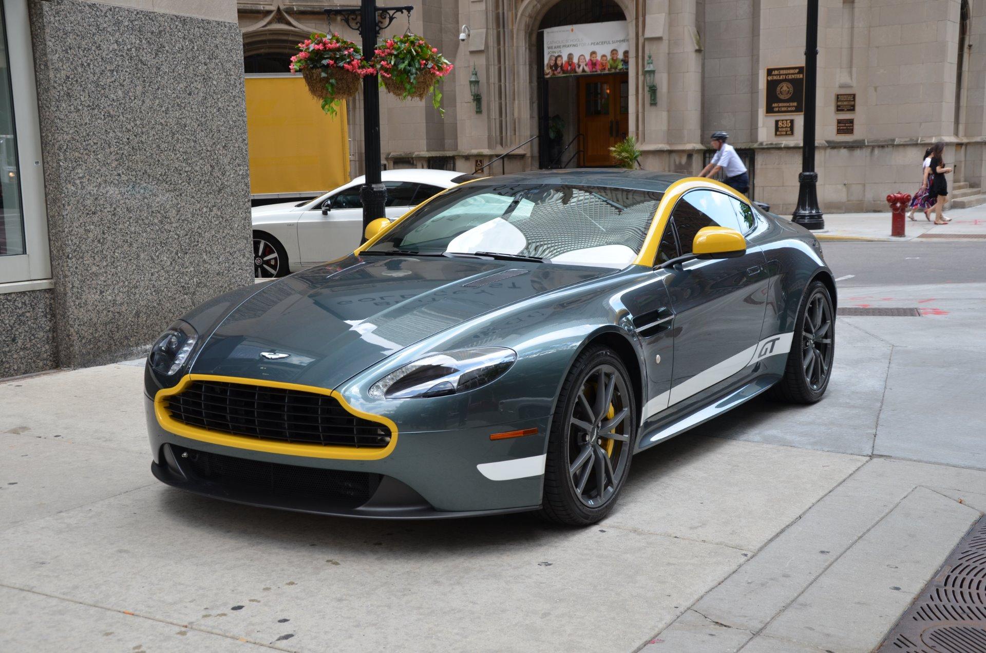 2015 Aston Martin V8 Vantage Gt Stock L275caac For Sale Near Chicago Il Il Aston Martin Dealer