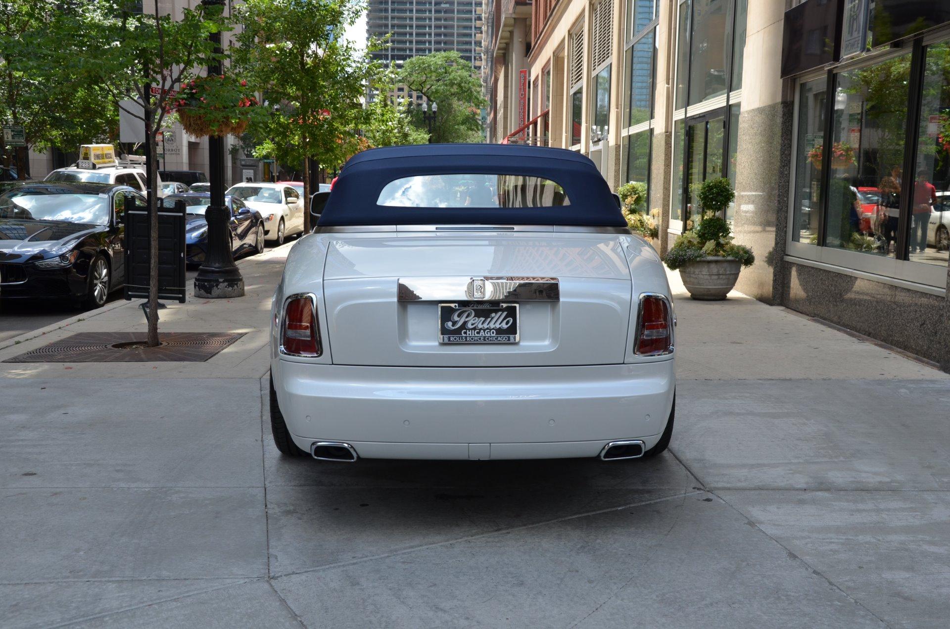 Used 2017 rolls royce phantom drophead coupe chicago il