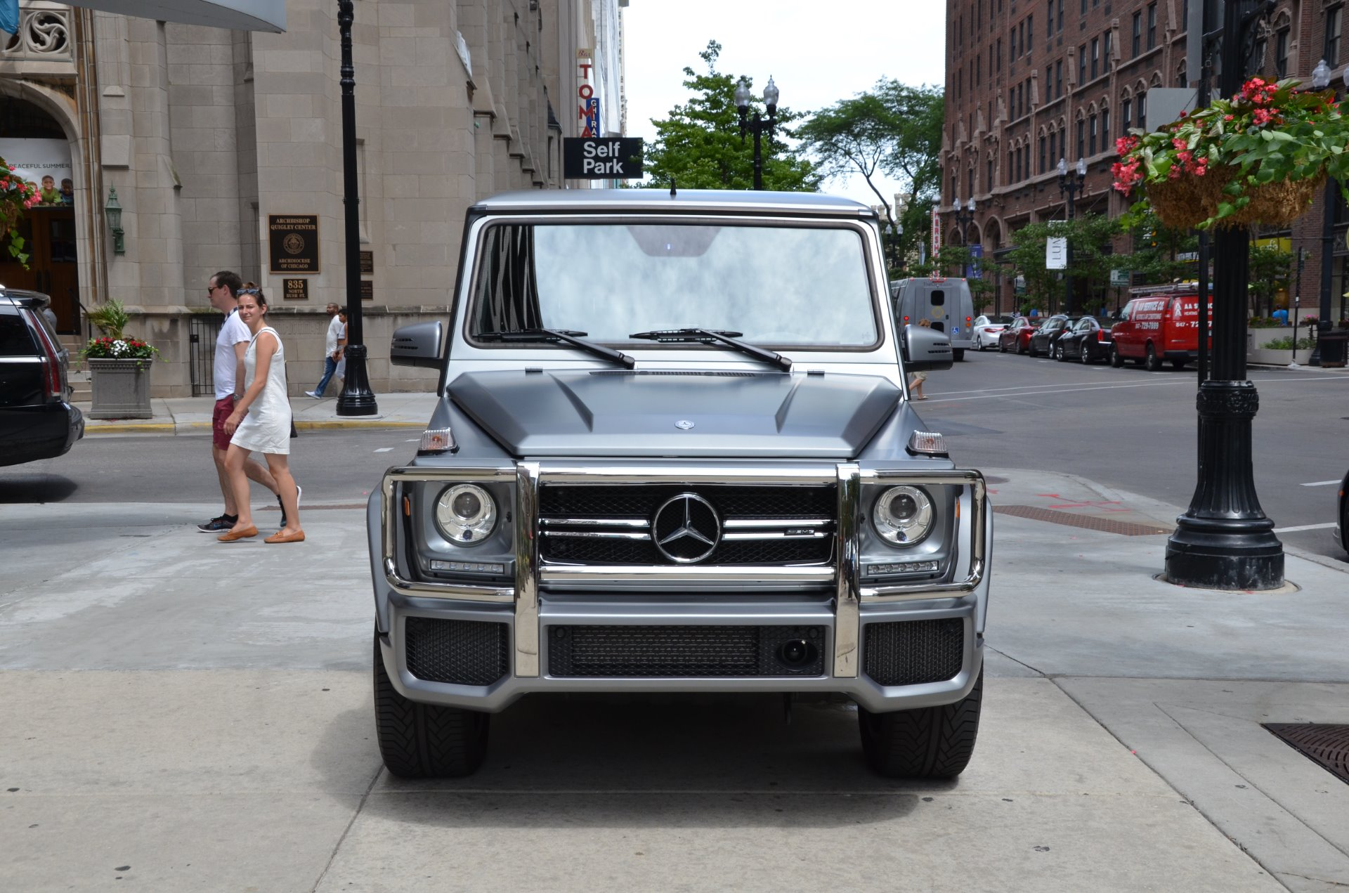 2016 mercedes benz g class amg g63 stock 46377 for sale for Mercedes benz dealers in chicago