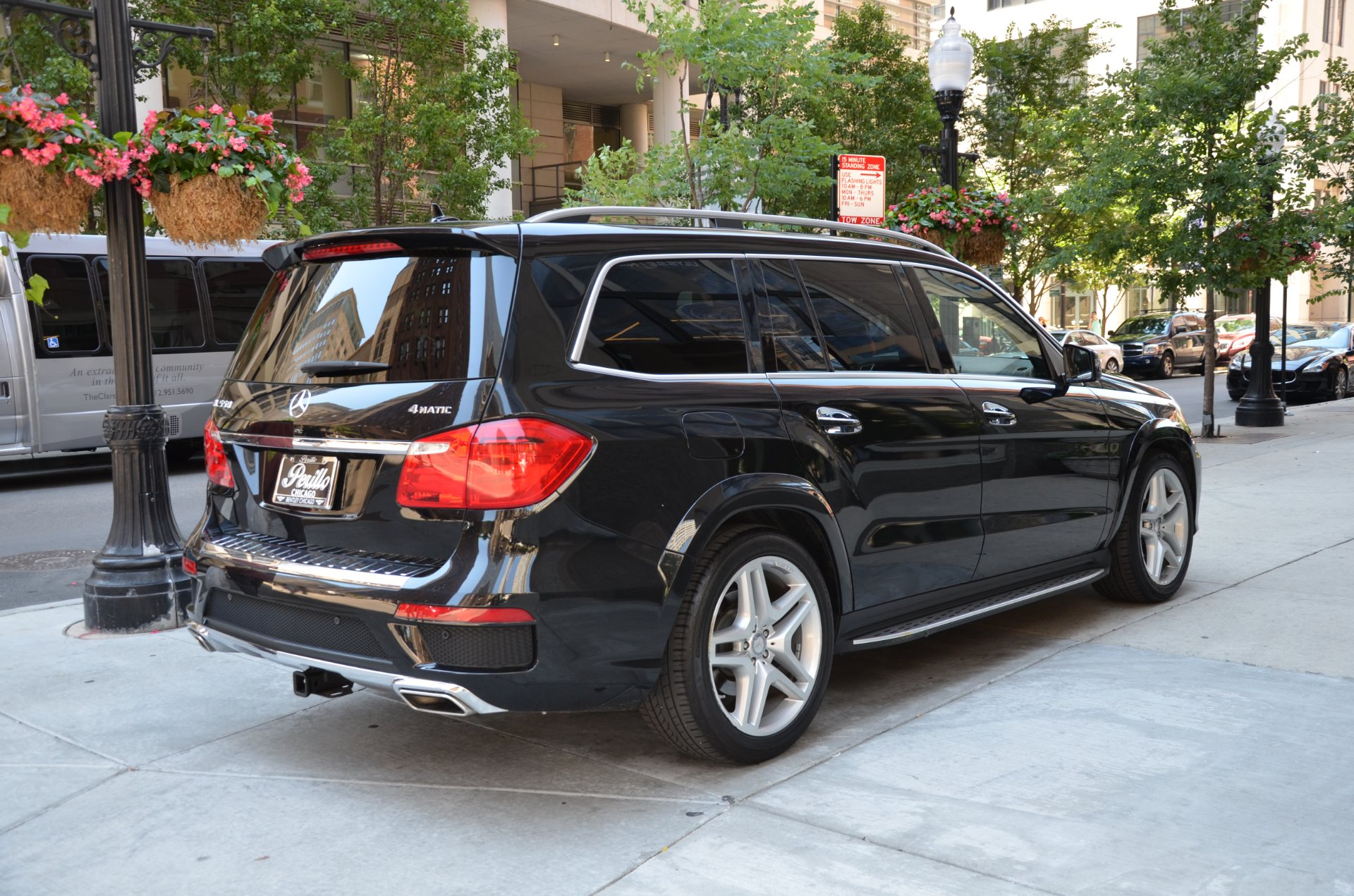 2015 Mercedes Benz Gl Class Gl550 4matic Stock Gc