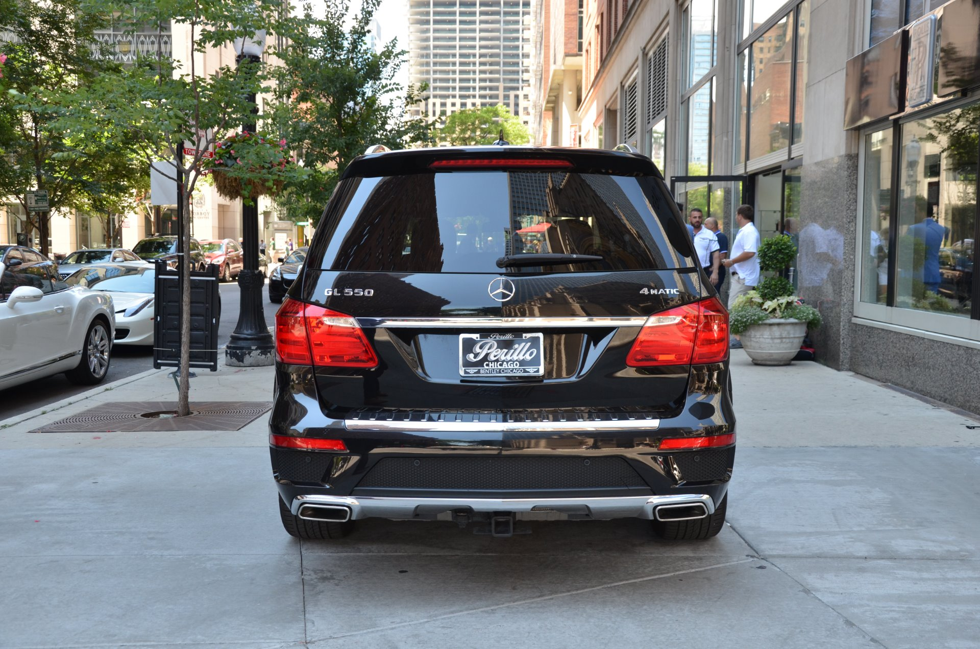 2015 mercedes benz gl class gl550 4matic stock gc for Chicagoland mercedes benz dealers