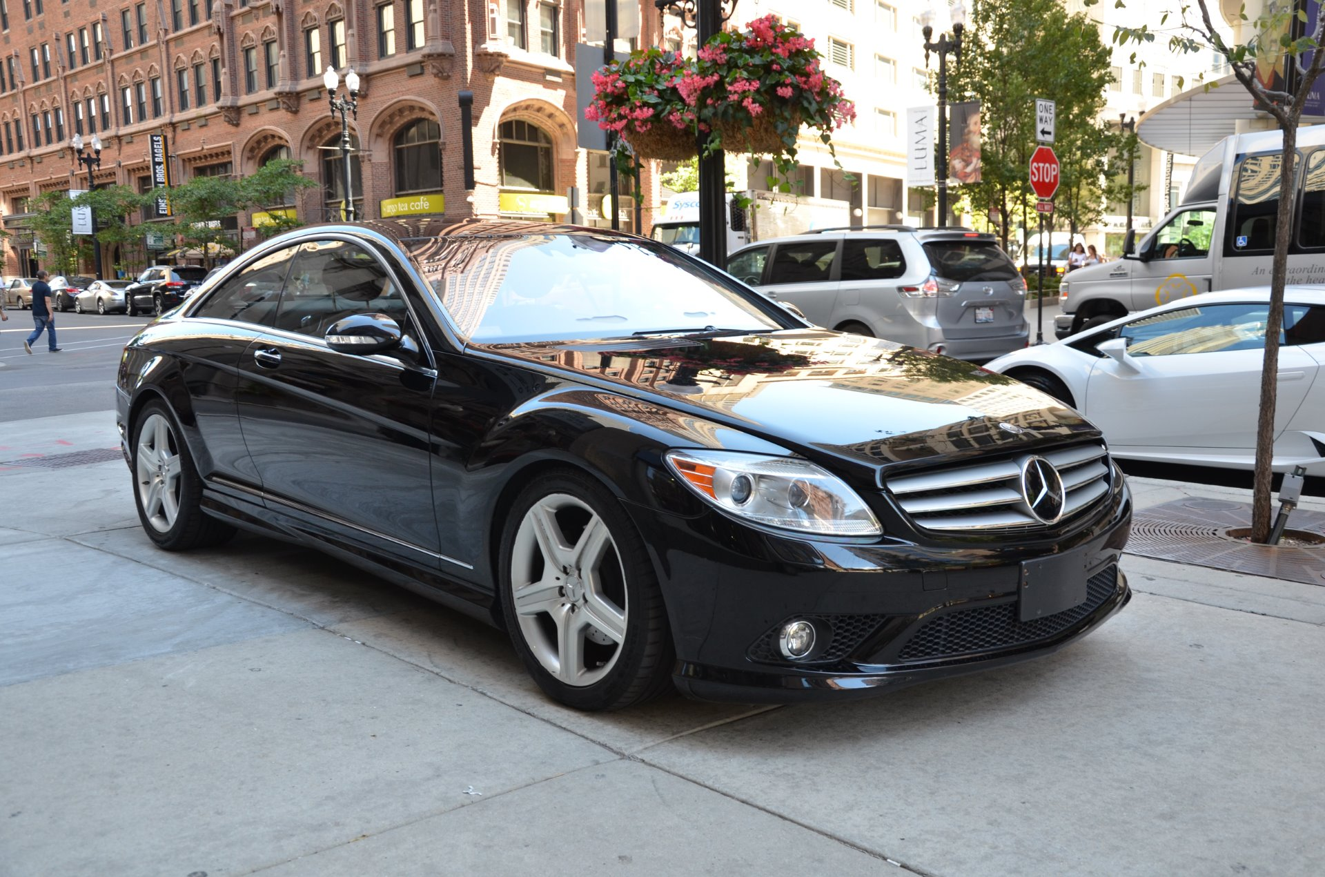 2008 mercedes benz cl class cl550 stock b786aa for sale for Mercedes benz parts chicago