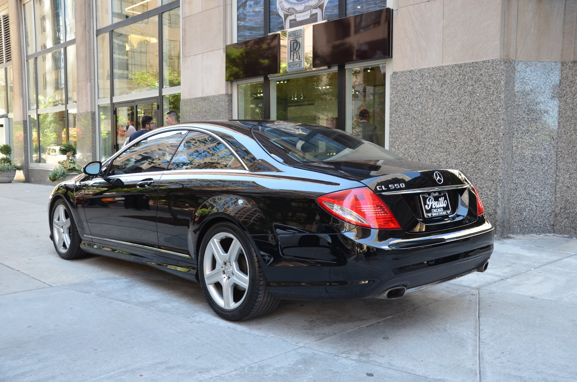 2008 mercedes benz cl class cl550 stock b786aa for sale for Mercedes benz chicago dealers