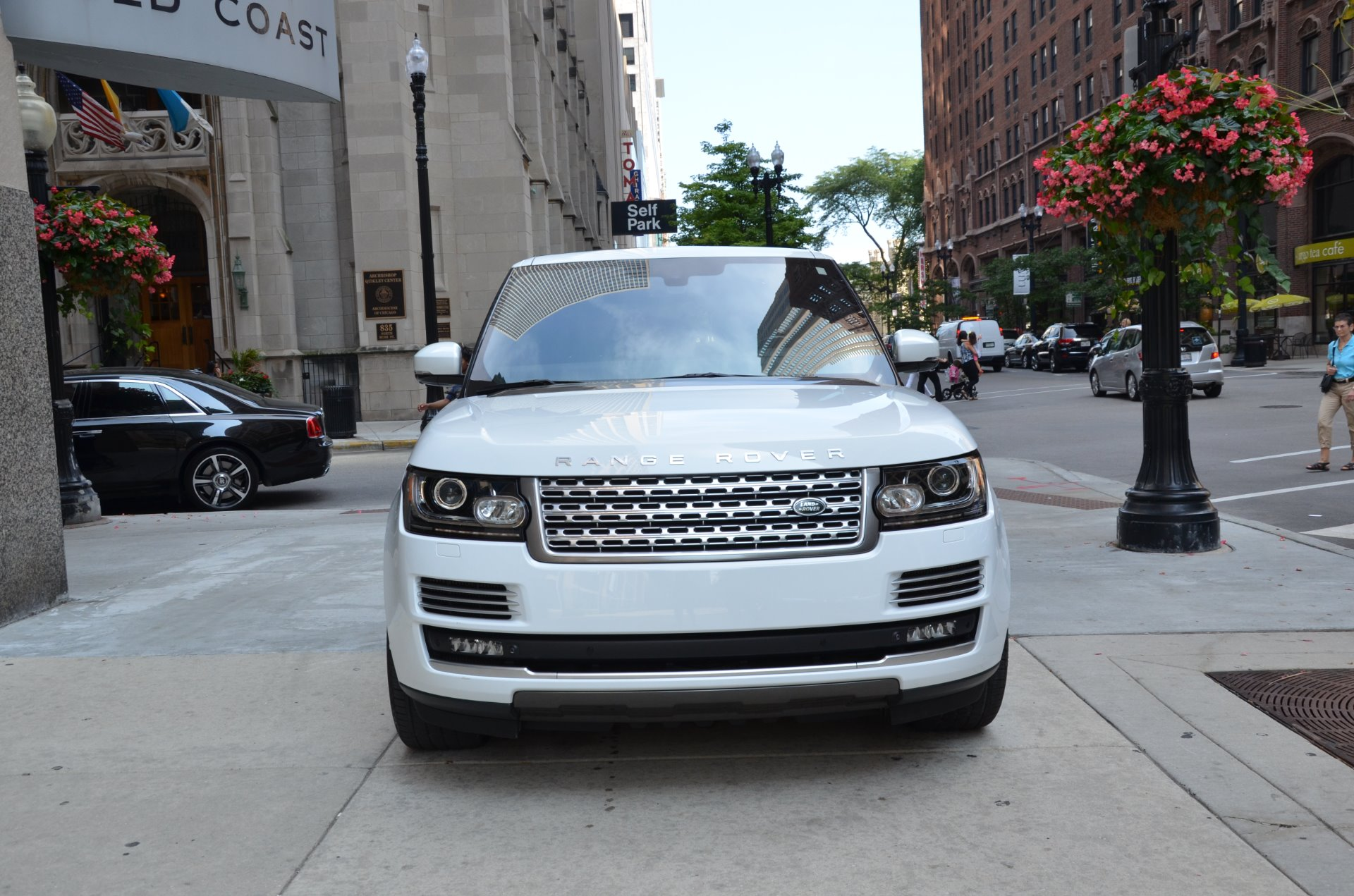 2014 land rover range rover autobiography stock b801a for sale near chicago il il land. Black Bedroom Furniture Sets. Home Design Ideas