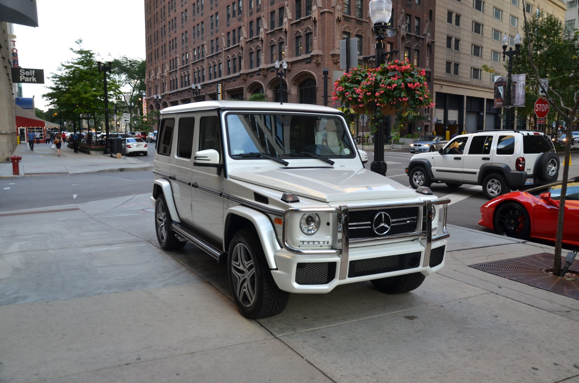2016 mercedes benz g class amg g63 stock 54639 for sale for Mercedes benz chicago dealers