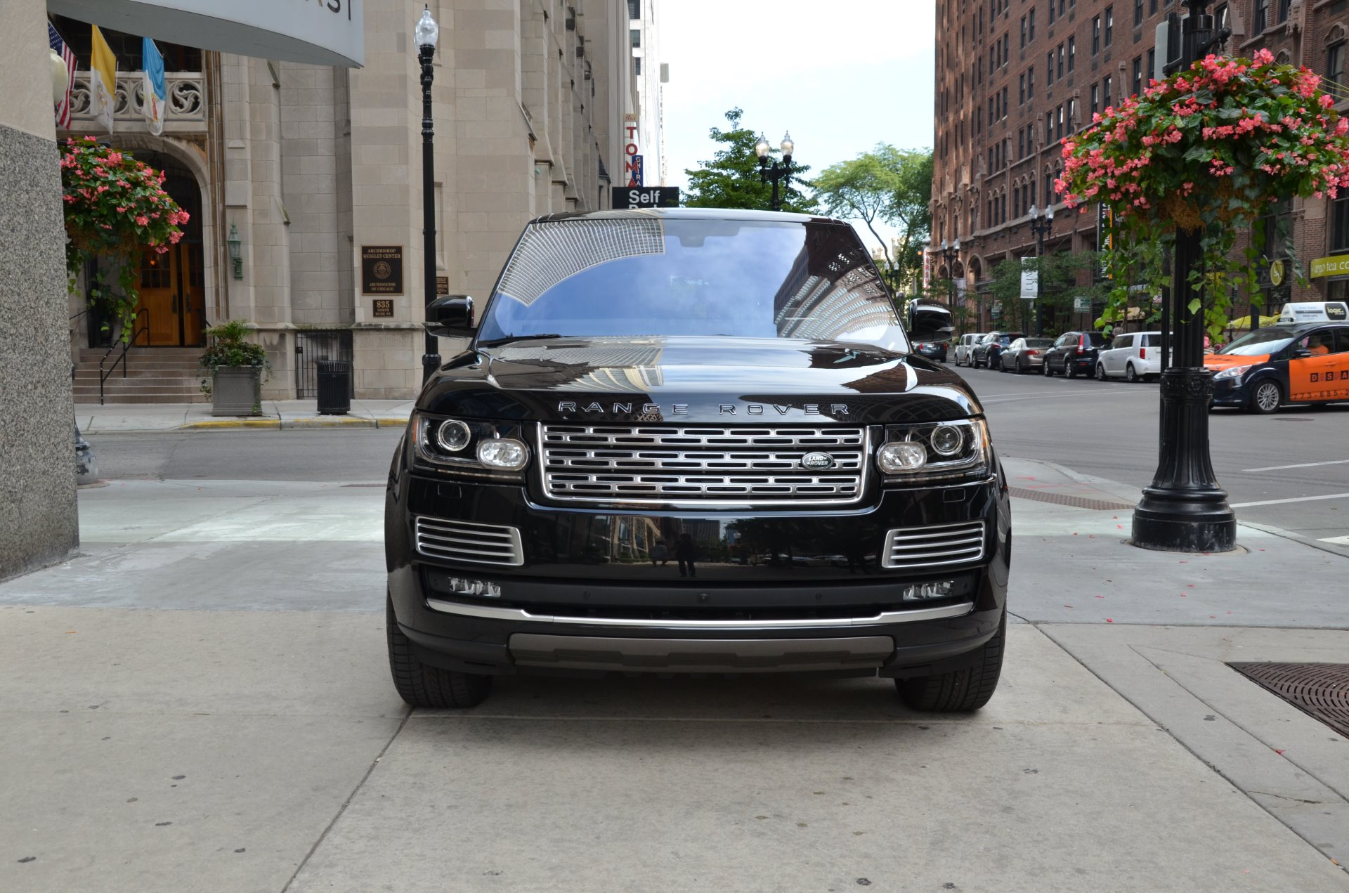 2016 land rover range rover sv autobiography lwb stock b799a for sale near chicago il il. Black Bedroom Furniture Sets. Home Design Ideas