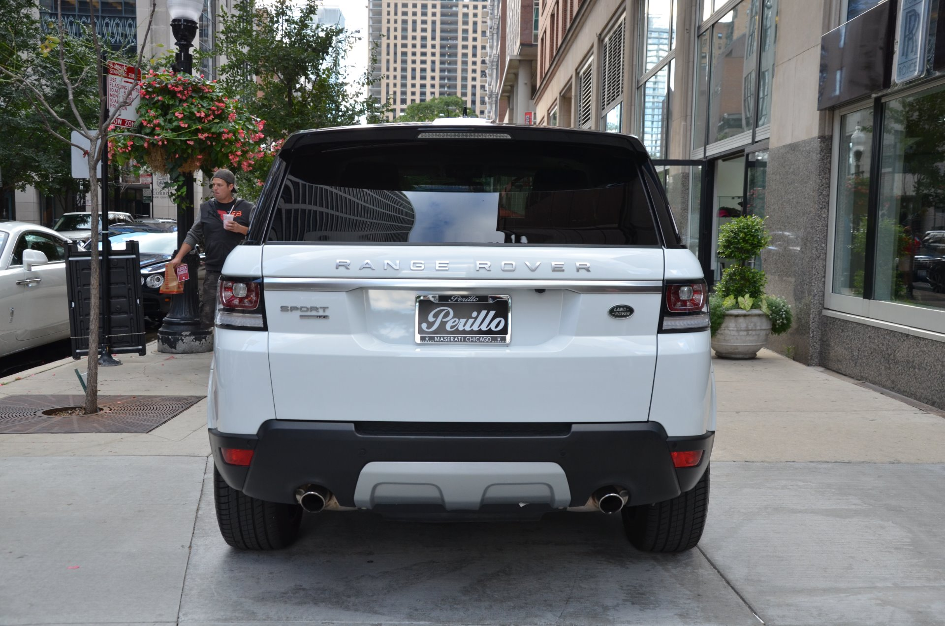 2015 land rover range rover sport hse stock r277ba for sale near chicago il il land rover. Black Bedroom Furniture Sets. Home Design Ideas