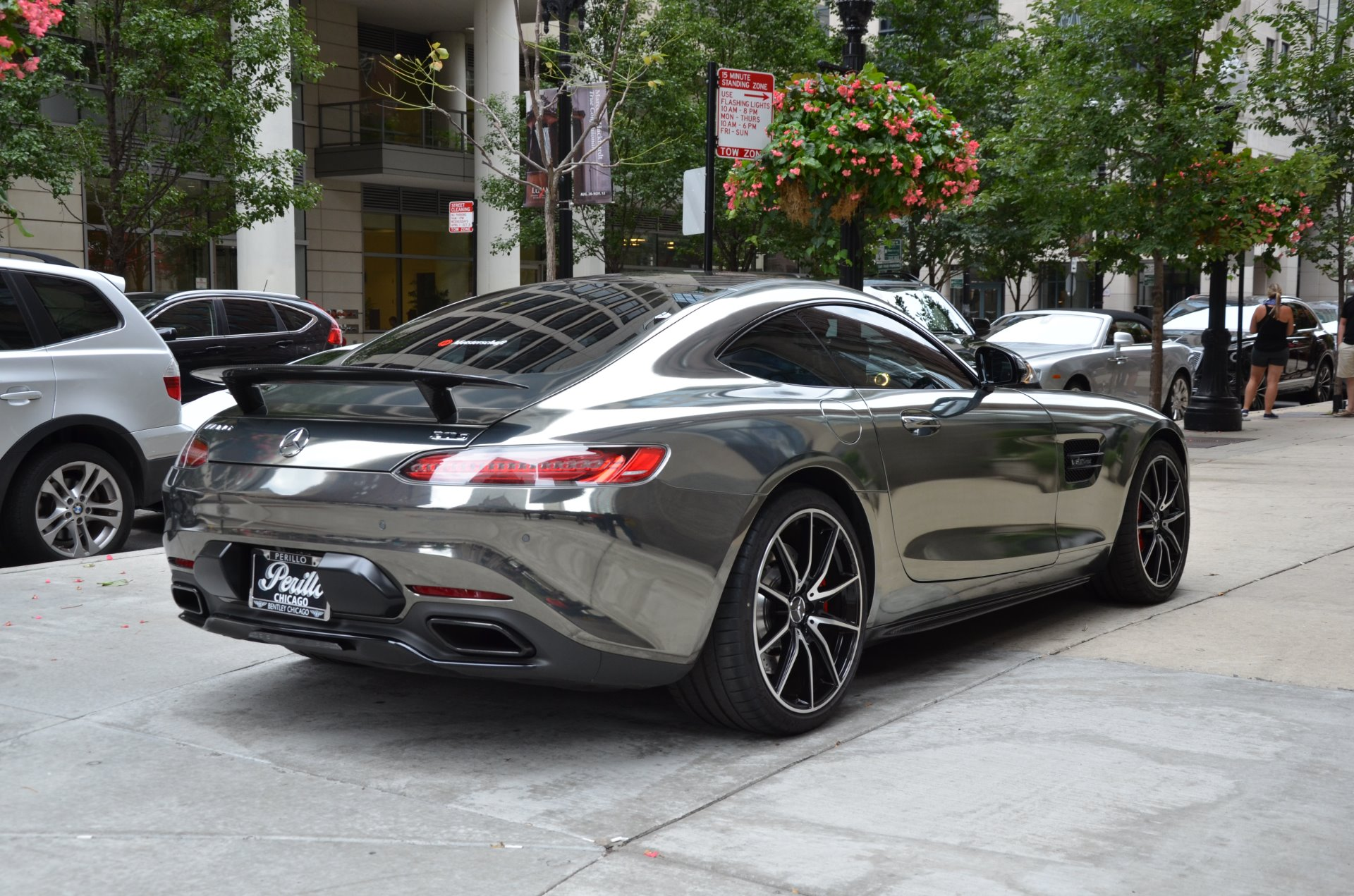 2016 mercedes benz amg gt s stock gc mir93 for sale near for Mercedes benz dealers in chicago