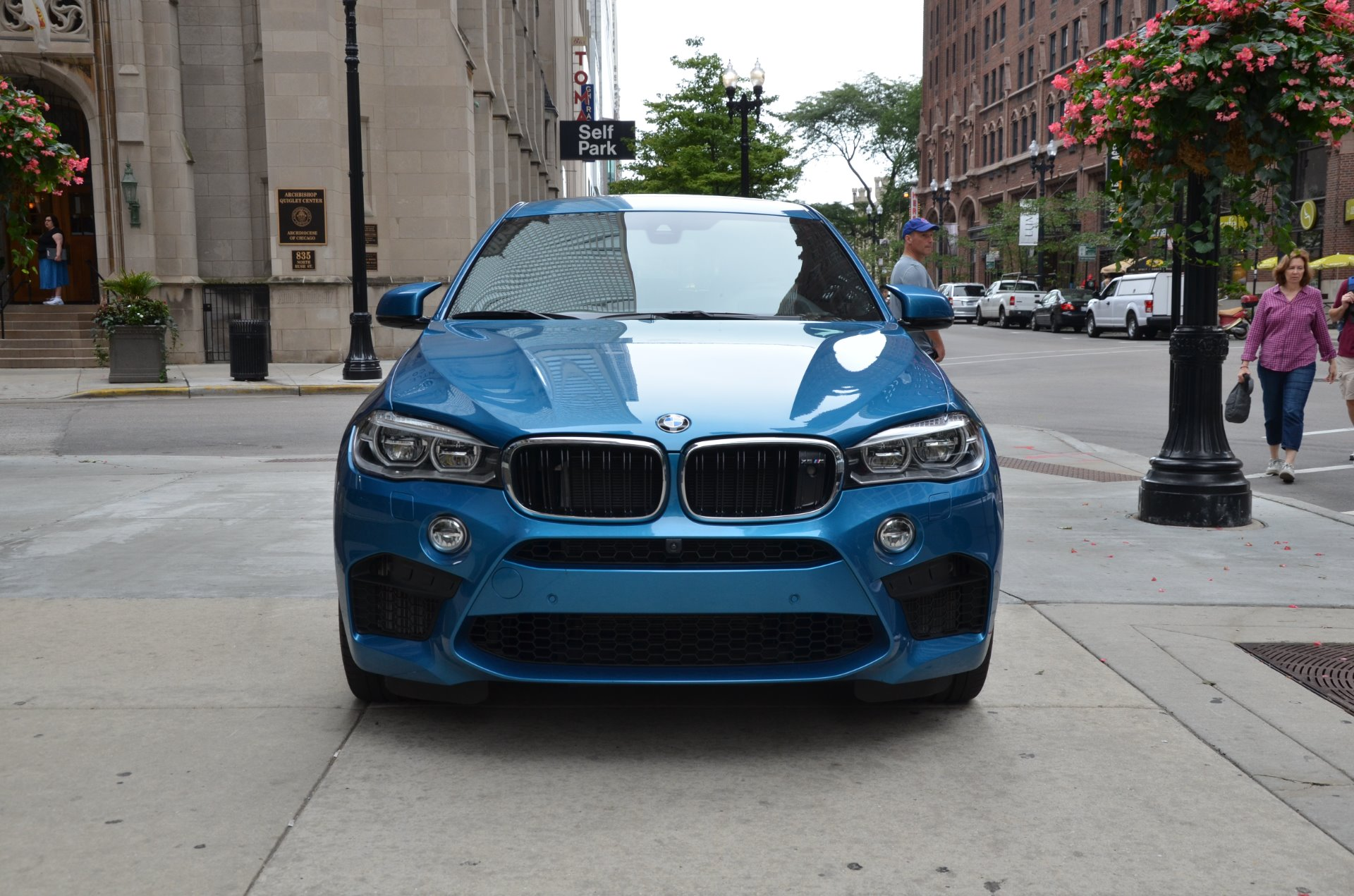 2016 bmw x6 m stock b825a for sale near chicago il il bmw dealer. Black Bedroom Furniture Sets. Home Design Ideas