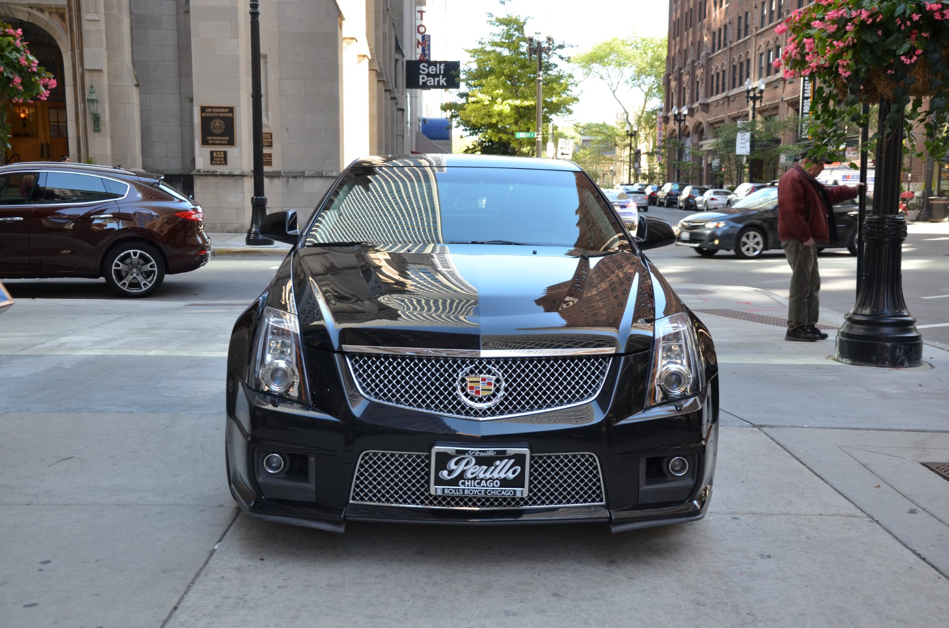 2011 cadillac cts v stock gc2006a for sale near chicago il il cadillac dealer. Black Bedroom Furniture Sets. Home Design Ideas