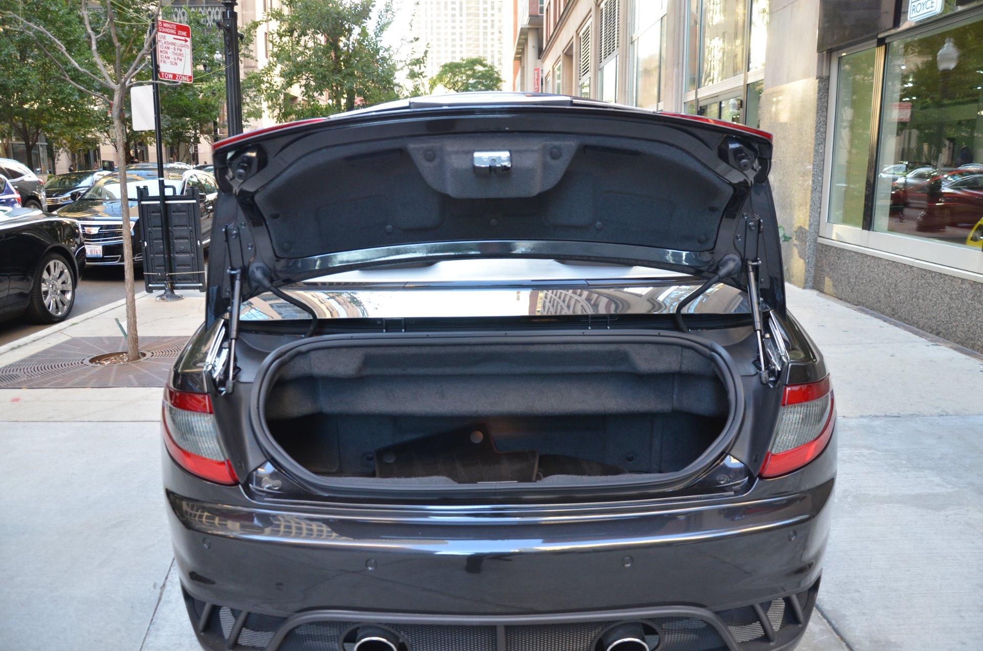 2013 maserati granturismo mc convertible sport stock l308aa for sale near chicago il il. Black Bedroom Furniture Sets. Home Design Ideas