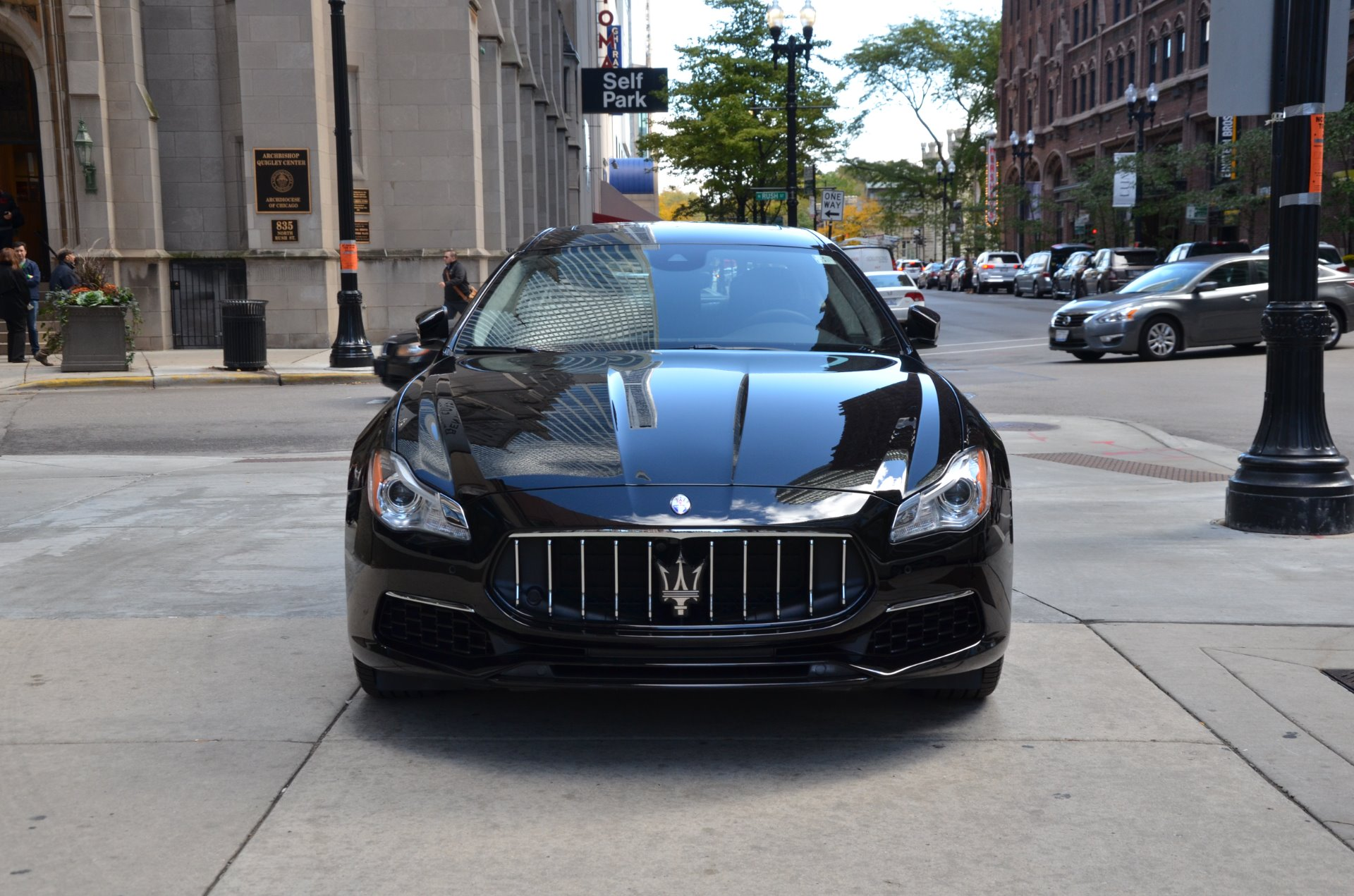 2017 maserati quattroporte sq4 s q4 granlusso stock m527 for sale near chicago il il. Black Bedroom Furniture Sets. Home Design Ideas