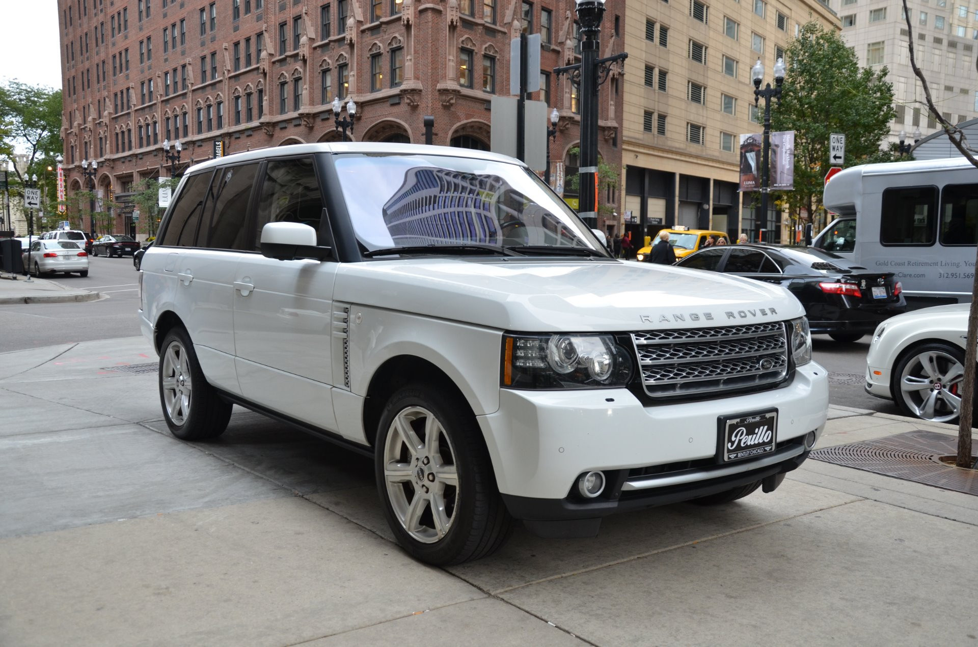 2012 land rover range rover supercharged stock b845a for sale near chicago il il land rover. Black Bedroom Furniture Sets. Home Design Ideas