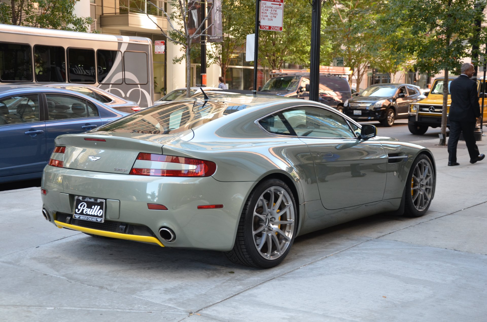 2007 aston martin v8 vantage stock l329aa for sale near chicago il il aston martin dealer. Black Bedroom Furniture Sets. Home Design Ideas