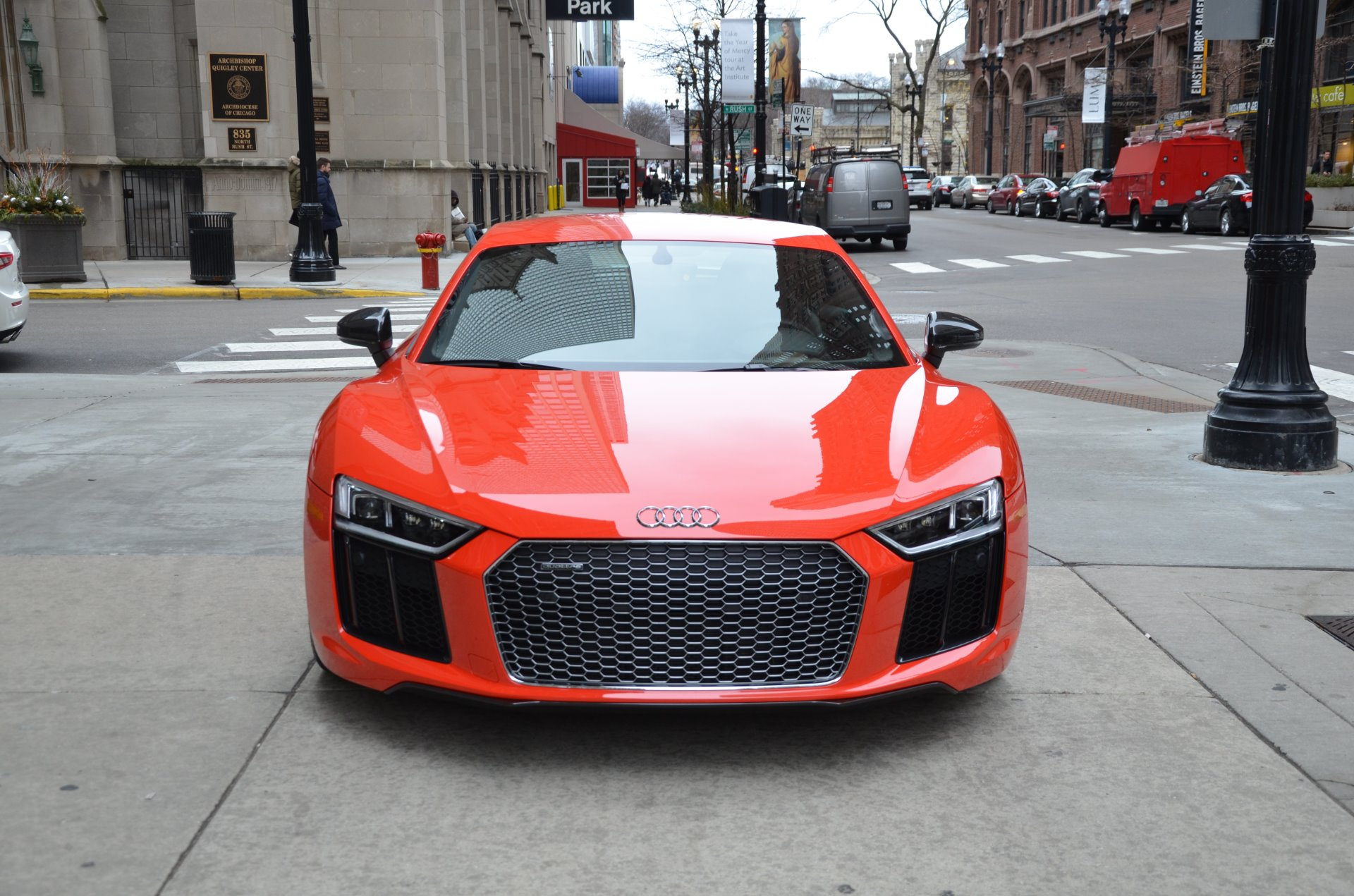 2017 audi r8 v10 plus stock l283a for sale near chicago il il audi dealer. Black Bedroom Furniture Sets. Home Design Ideas