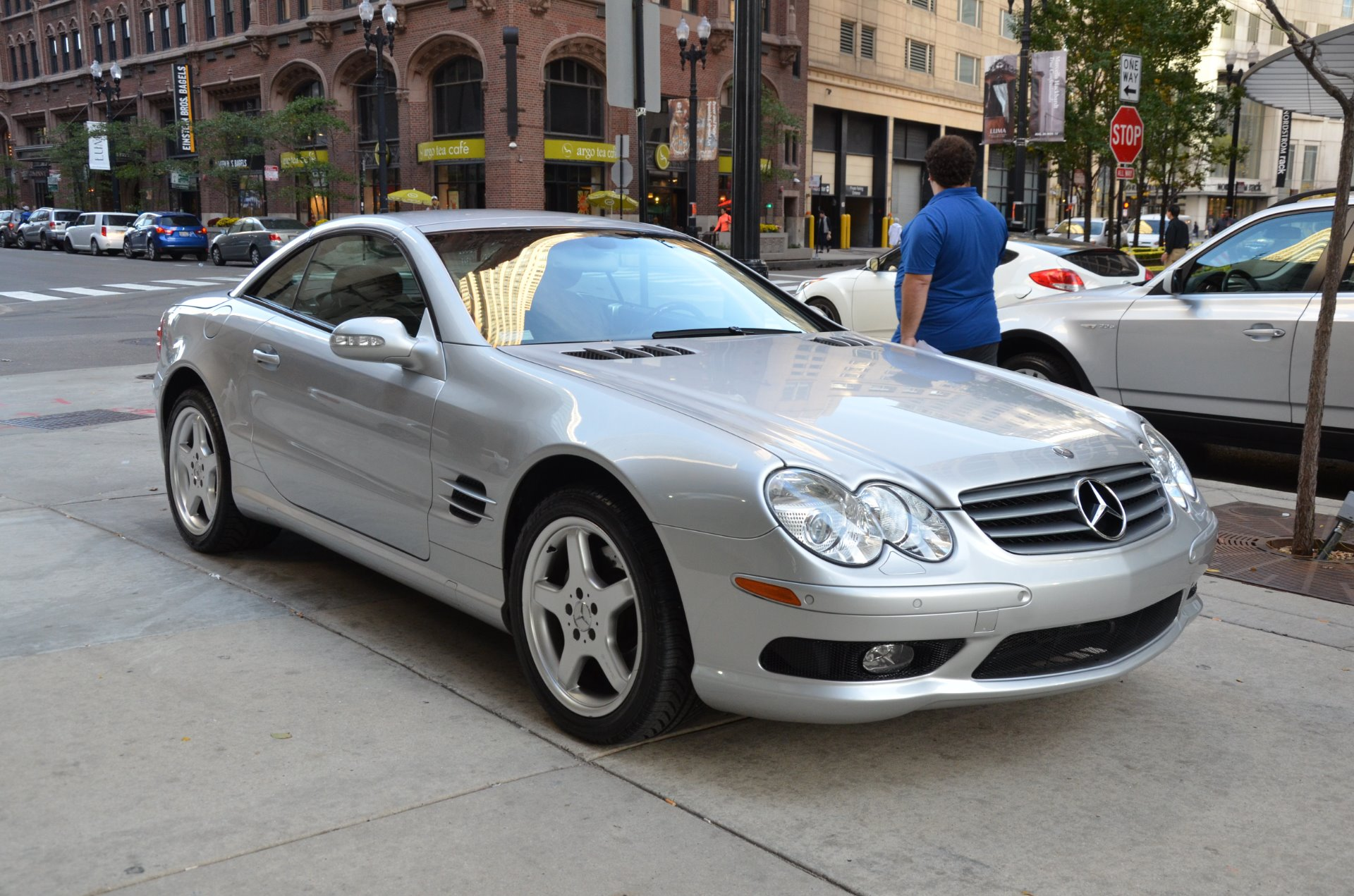 2003 mercedes benz sl class sl500 stock m476a s for sale