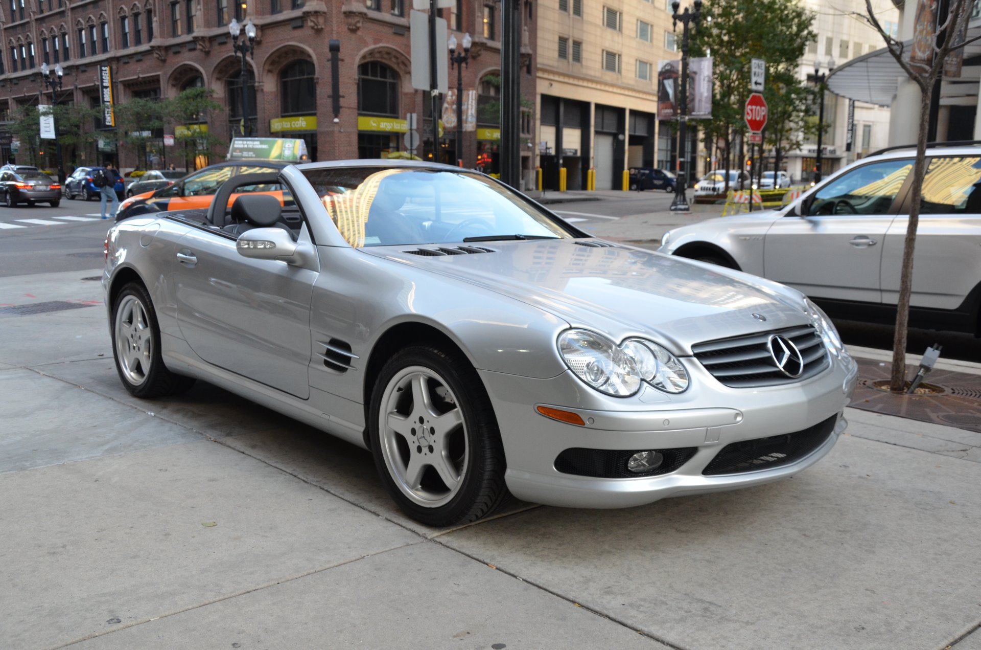 2003 mercedes benz sl class sl500 stock m476a s for sale for Mercedes benz dealers in illinois