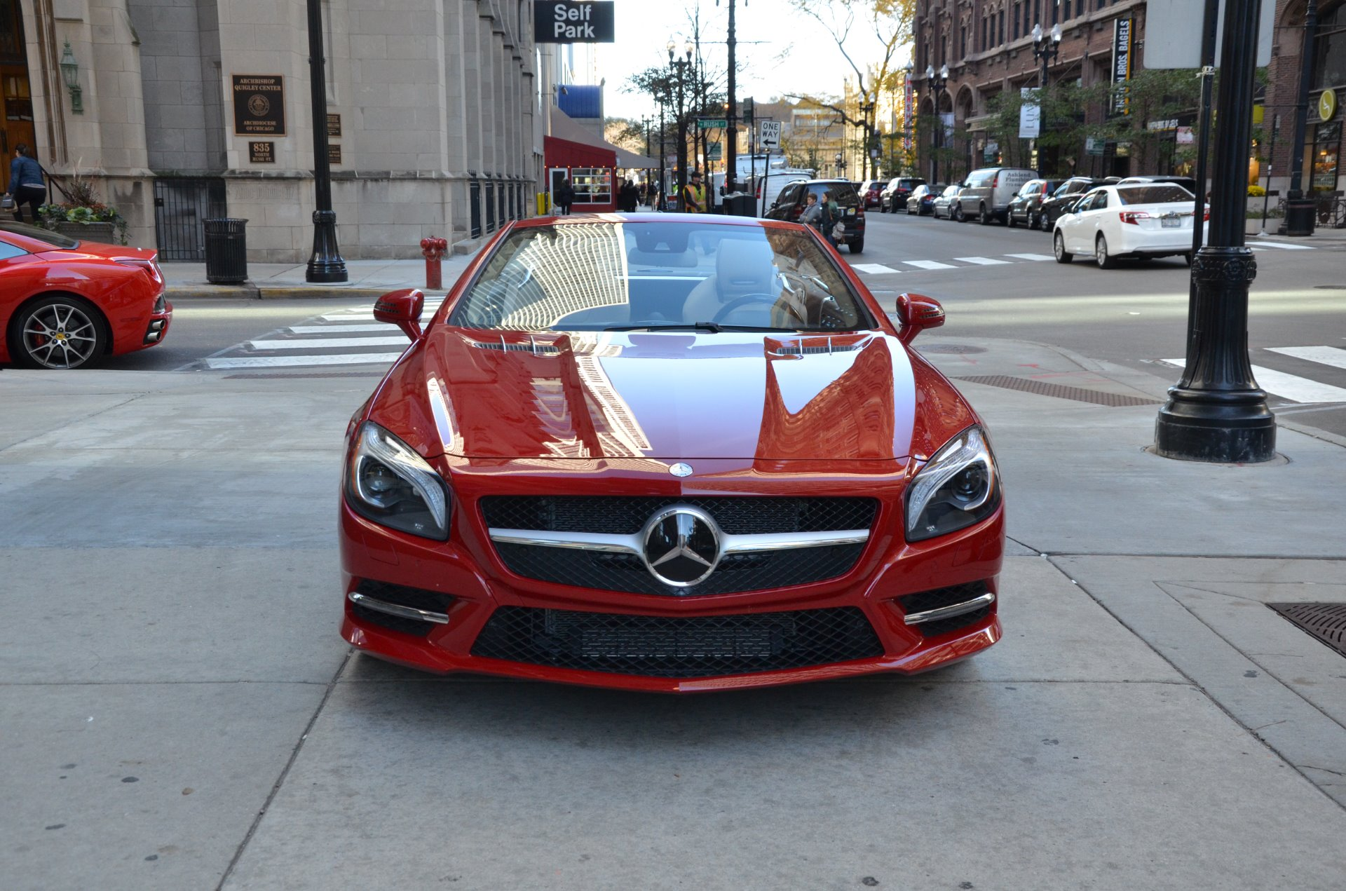2013 mercedes benz sl class sl550 stock b824aa for sale