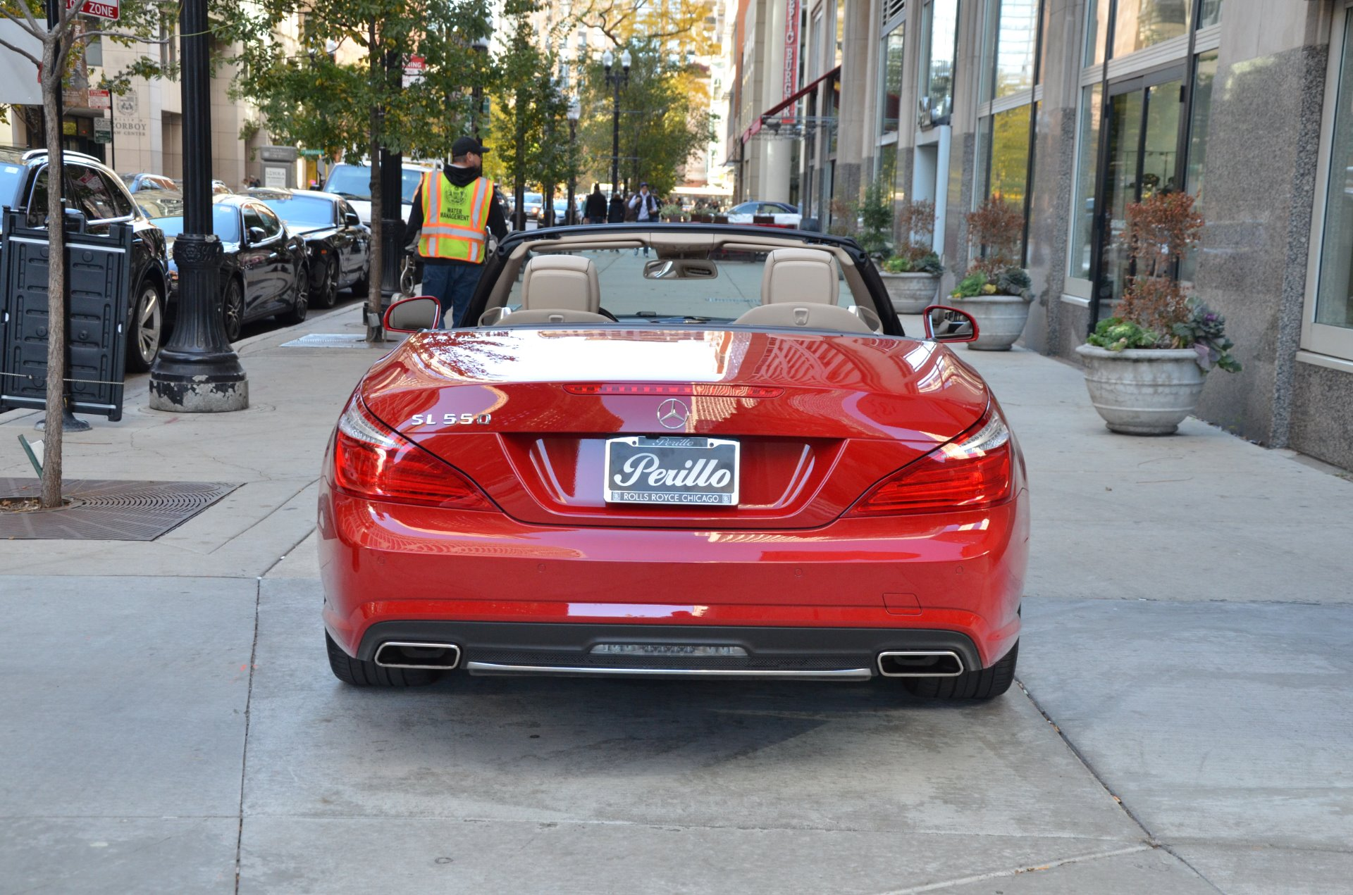 2013 mercedes benz sl class sl550 stock b824aa for sale for Mercedes benz chicago dealers