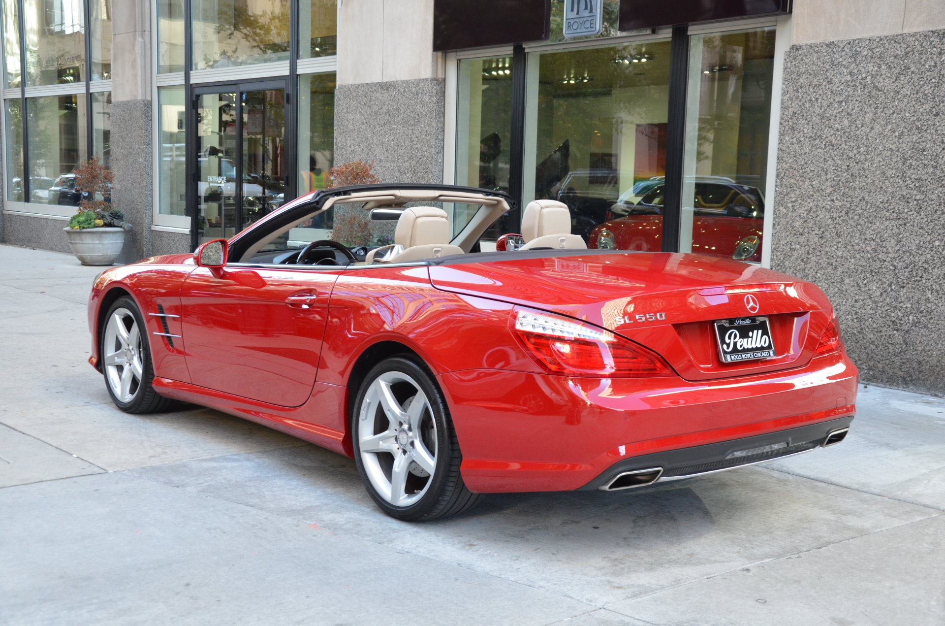 2013 mercedes benz sl class sl550 stock b824aa for sale near chicago il il mercedes benz dealer. Black Bedroom Furniture Sets. Home Design Ideas
