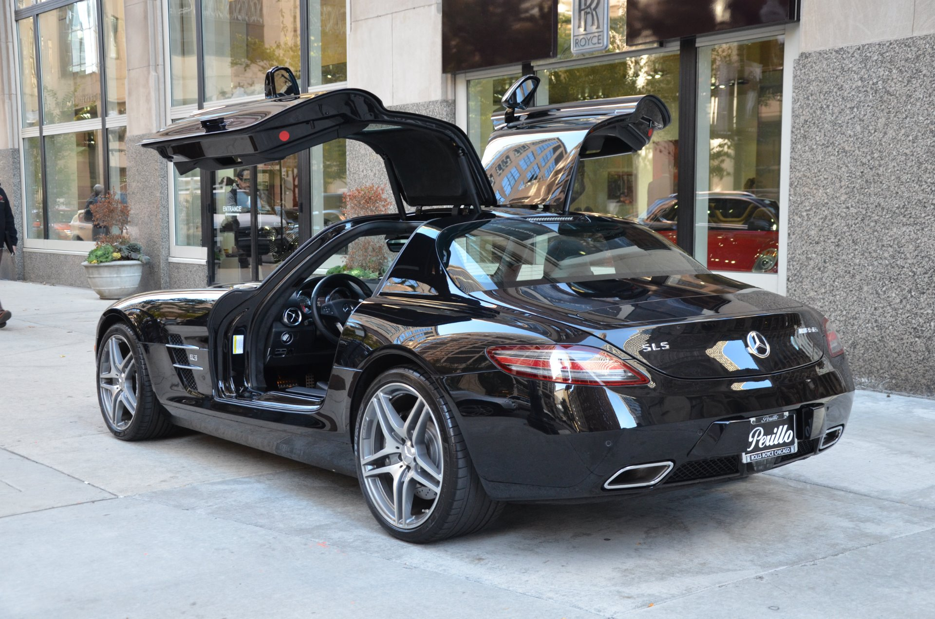 2012 mercedes benz sls amg stock l330ab for sale near for Mercedes benz dealers in chicago