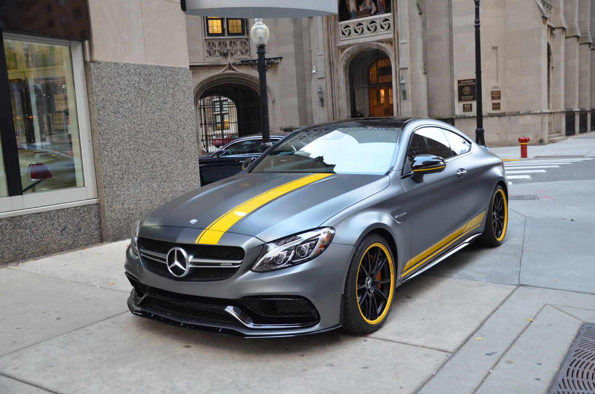 2017 mercedes benz c class amg c63 s stock b871a for sale near chicago il il mercedes benz. Black Bedroom Furniture Sets. Home Design Ideas