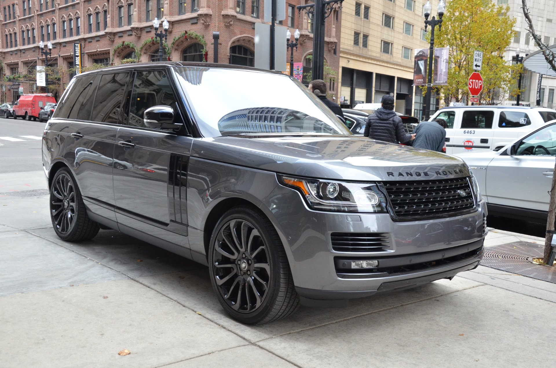 Range Rover Supercharged 2016 >> 2016 Land Rover Range Rover Supercharged Stock # B867A for