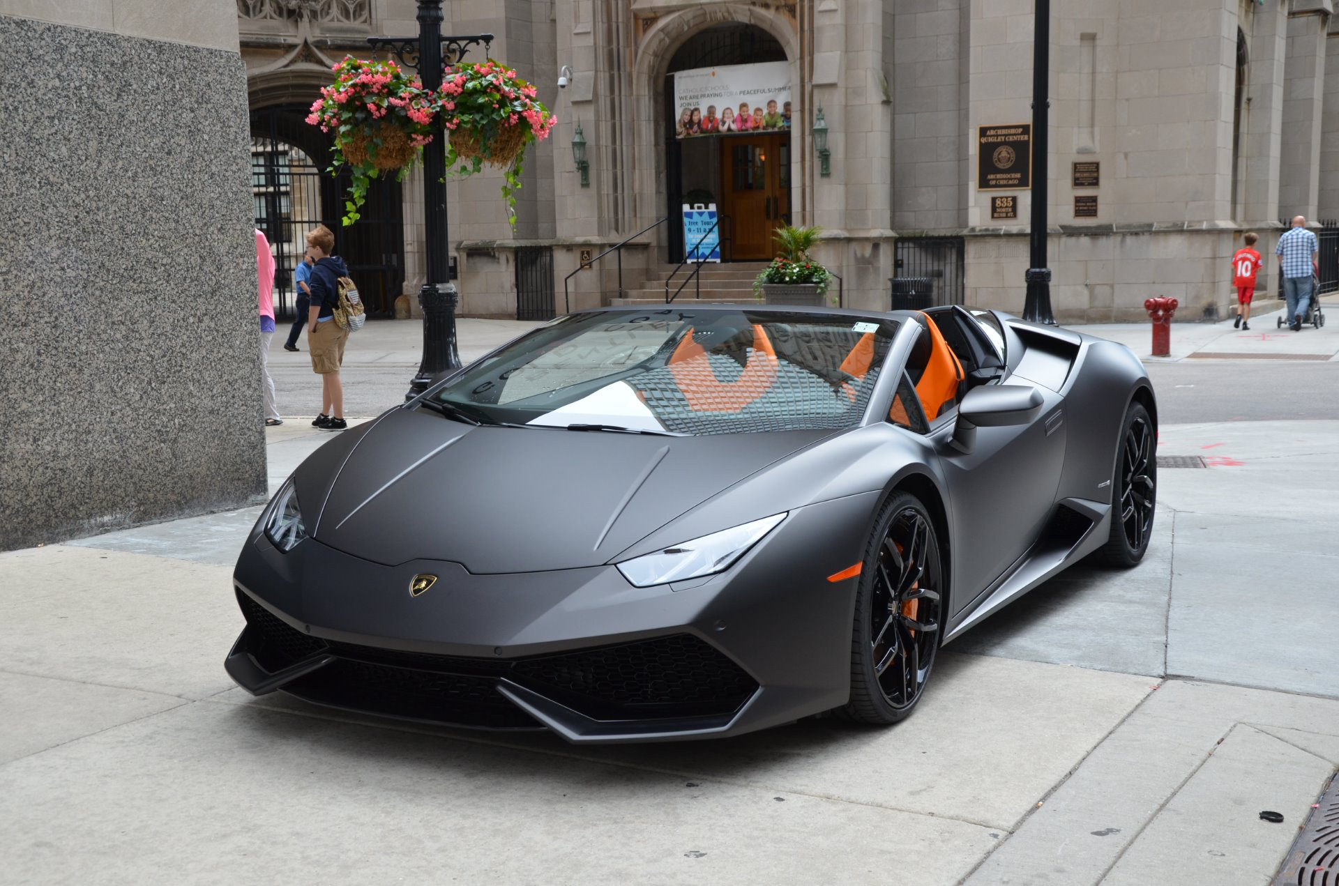 2017 lamborghini huracan spyder lp 610 4 spyder stock gc2113 for sale near chicago il il. Black Bedroom Furniture Sets. Home Design Ideas