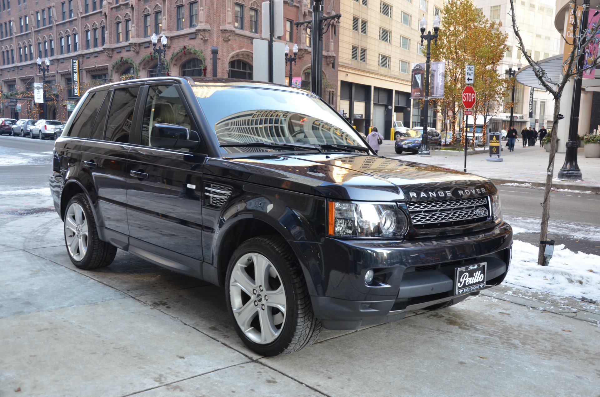 2012 land rover range rover sport hse lux stock b854a for sale near chicago il il land. Black Bedroom Furniture Sets. Home Design Ideas