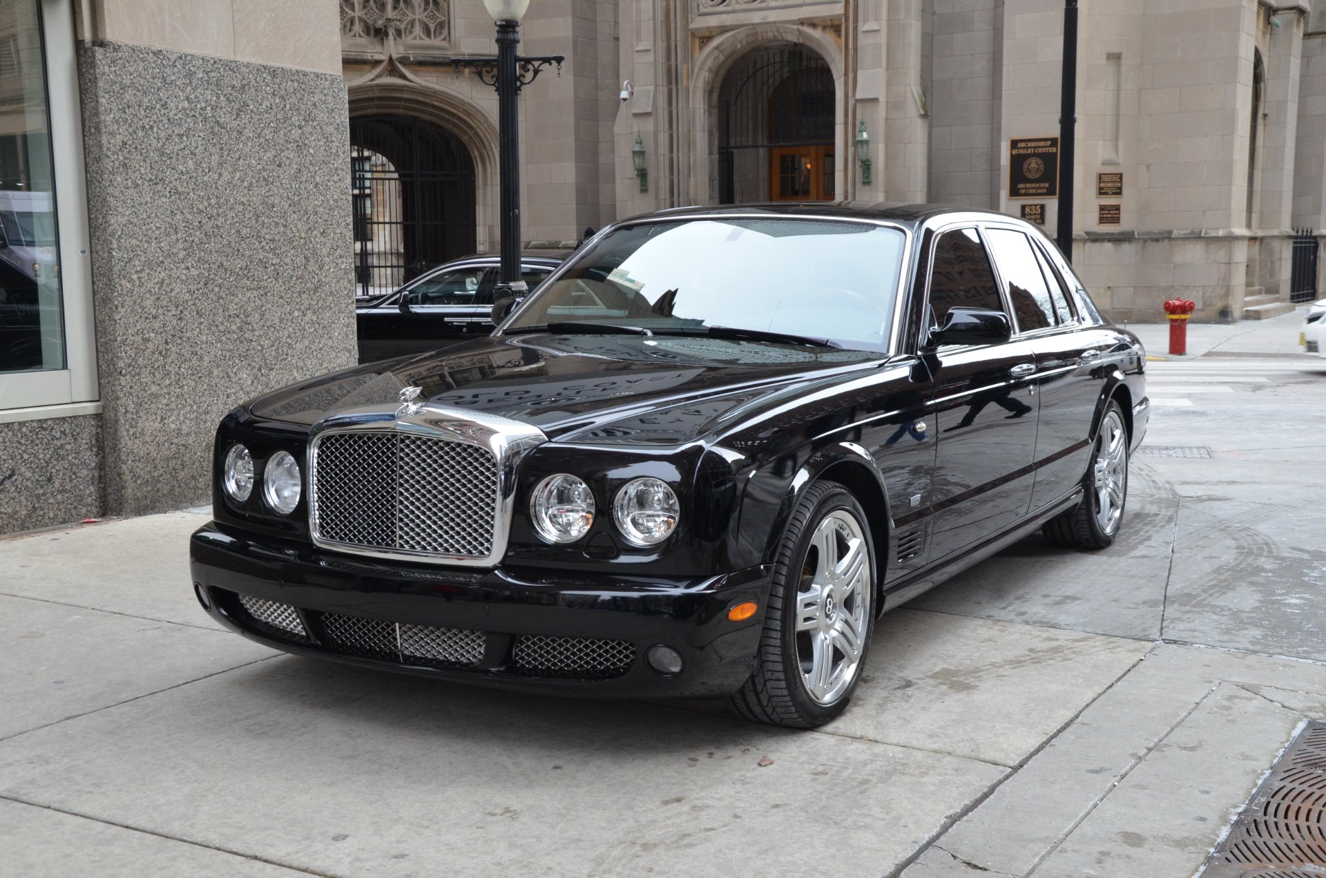 2009 bentley arnage t stock b844a for sale near chicago il il used 2009 bentley arnage t chicago il vanachro Choice Image