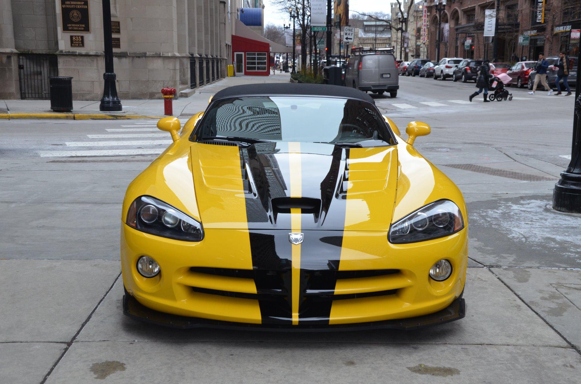 Used 2010 dodge viper srt 10 chicago il