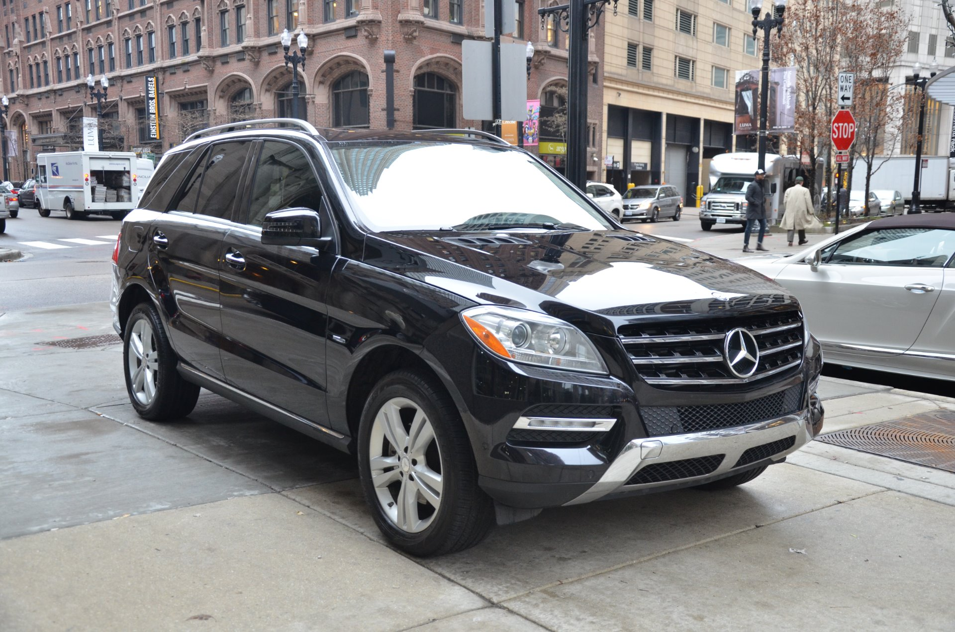 2012 mercedes benz m class ml 350 bluetec stock b882ab for Mercedes benz chicago dealers