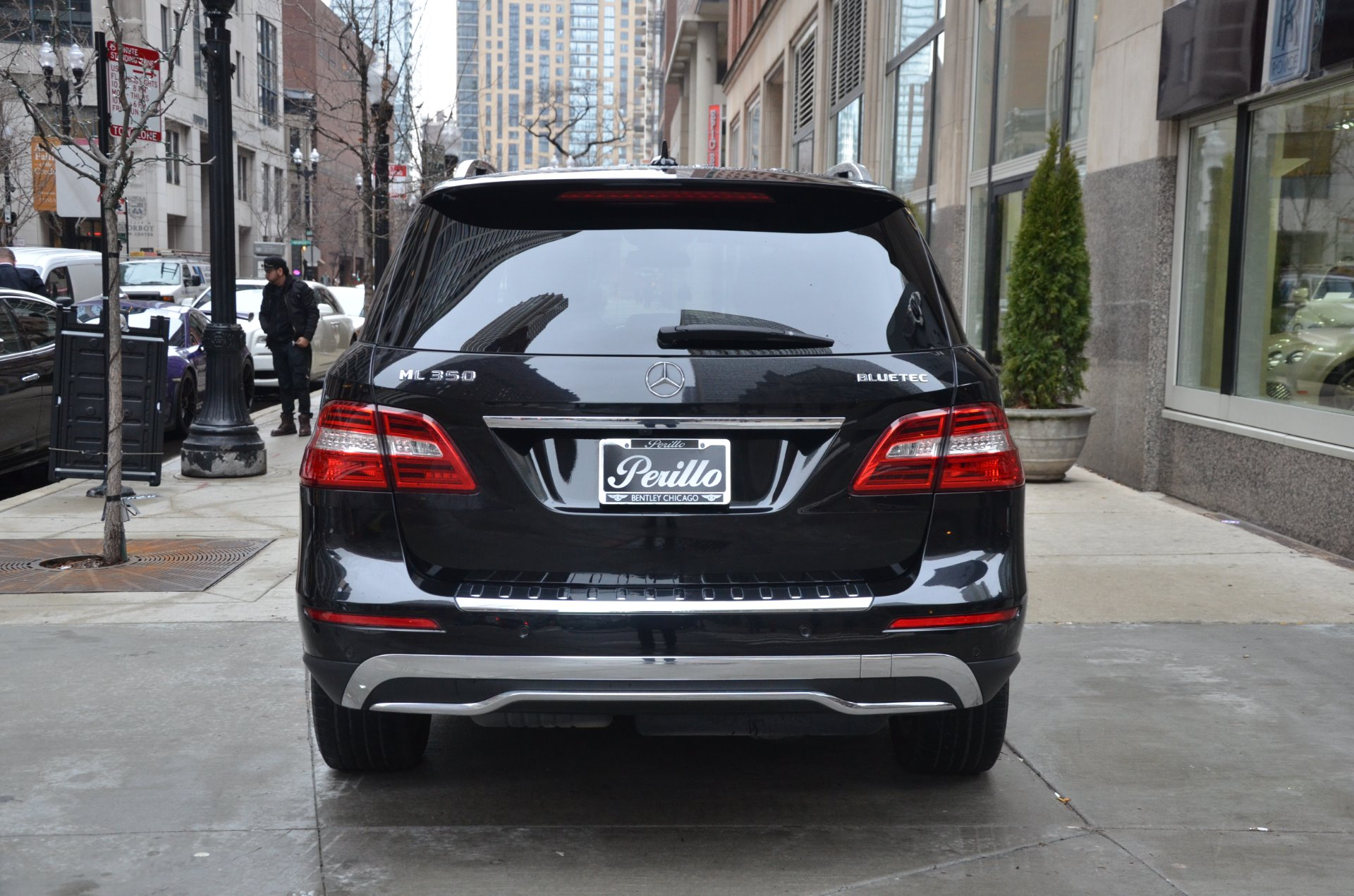 2012 mercedes benz m class ml 350 bluetec stock b882ab for Used mercedes benz chicago