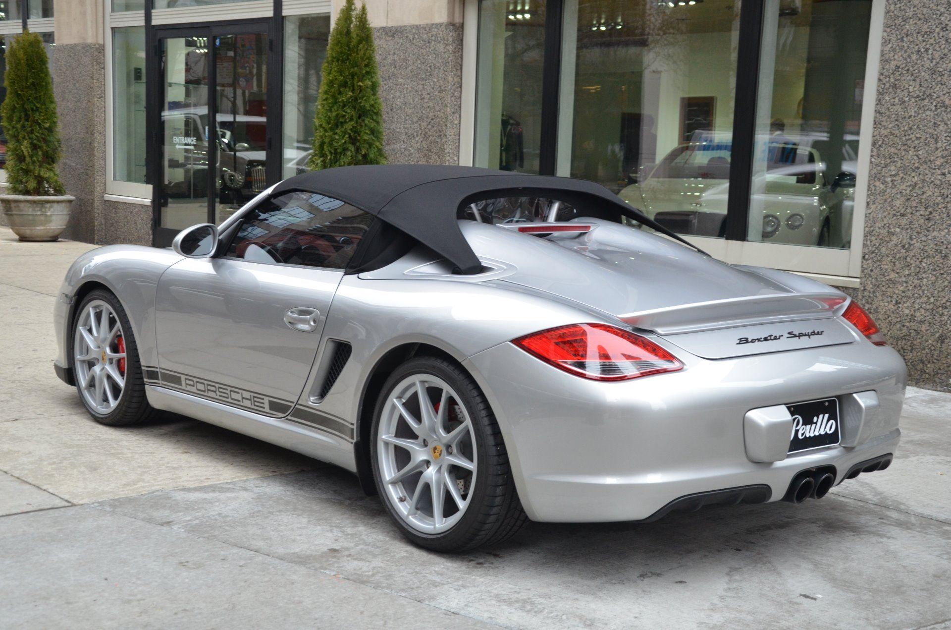 2011 Porsche Boxster Spyder Stock Gc2032a For Sale Near Chicago
