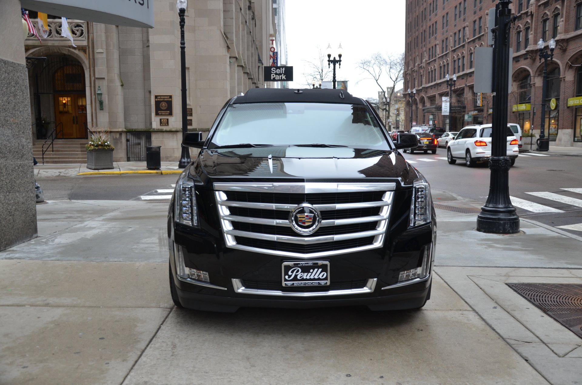 2015 cadillac escalade esv ceo limosine stock gc roland156 for sale near chicago il il. Black Bedroom Furniture Sets. Home Design Ideas
