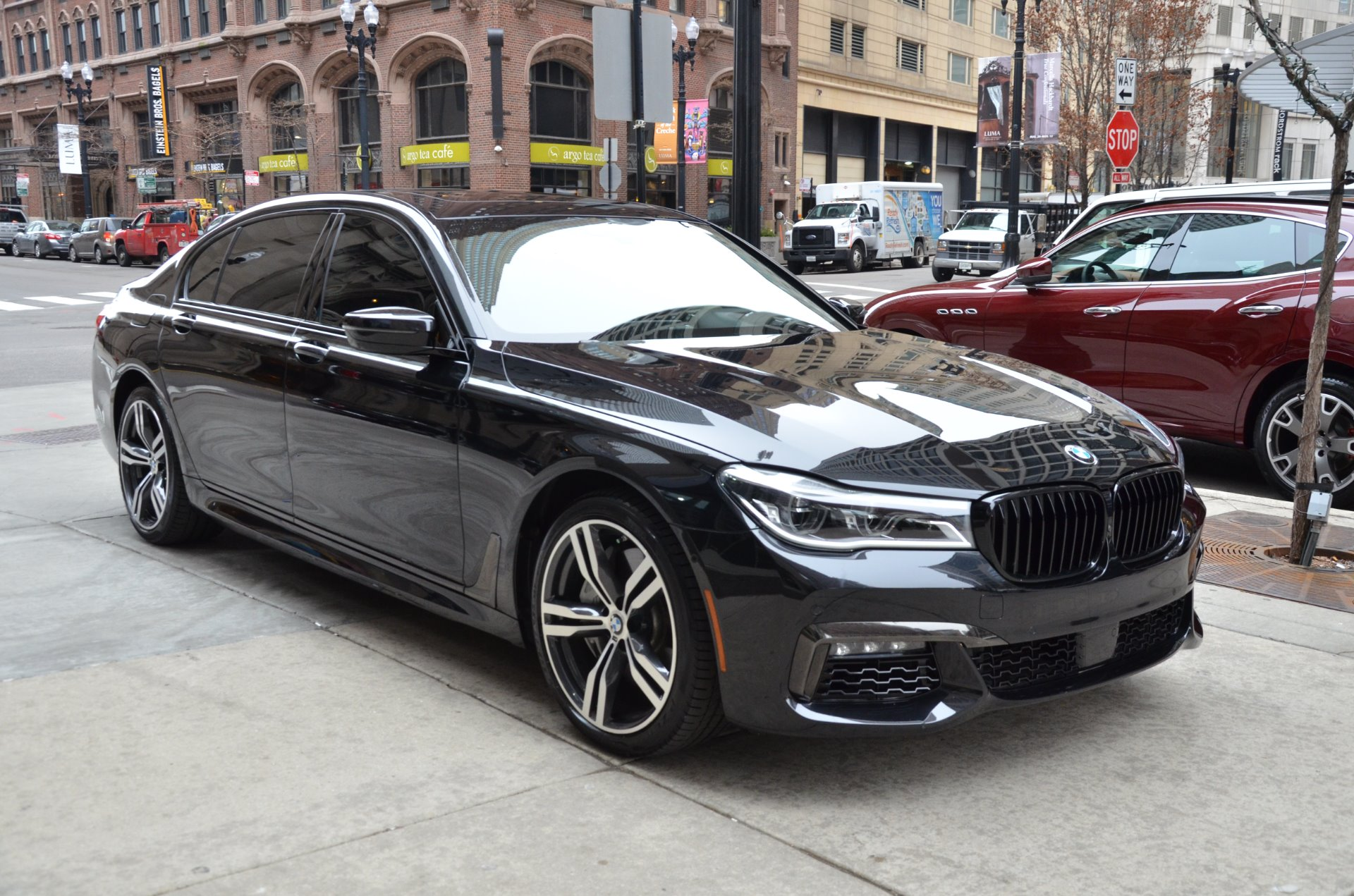 2016 Bmw 7 Series 750i Xdrive Stock B863a For Sale Near