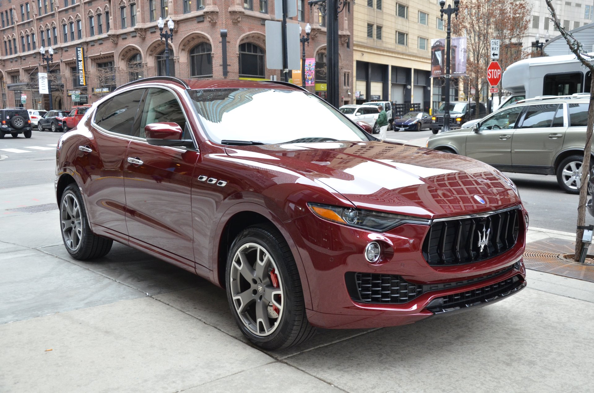 2017 maserati levante s s stock m567 s for sale near. Black Bedroom Furniture Sets. Home Design Ideas
