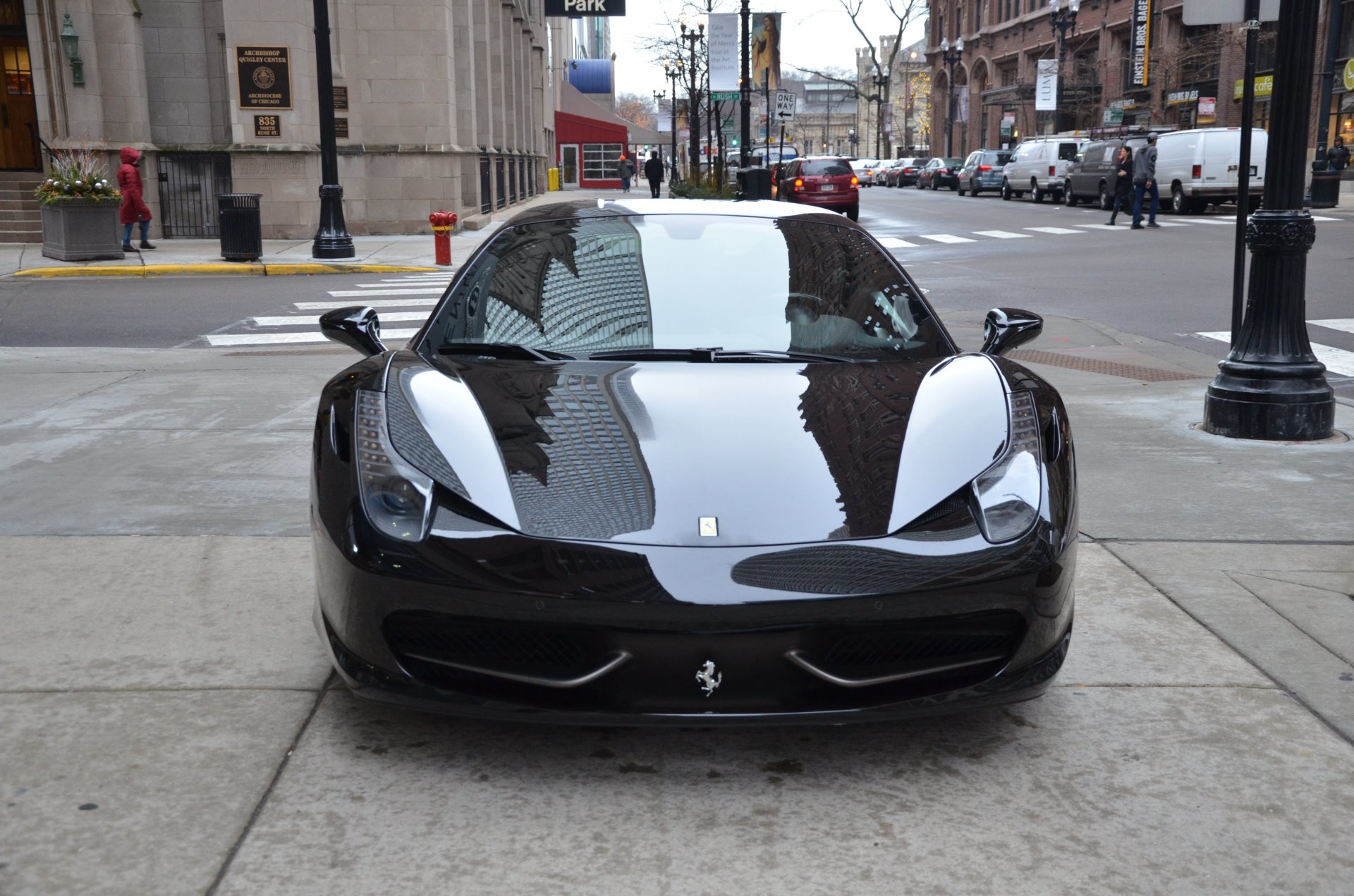2011 ferrari 458 italia stock l165b for sale near chicago il il ferrari dealer. Black Bedroom Furniture Sets. Home Design Ideas